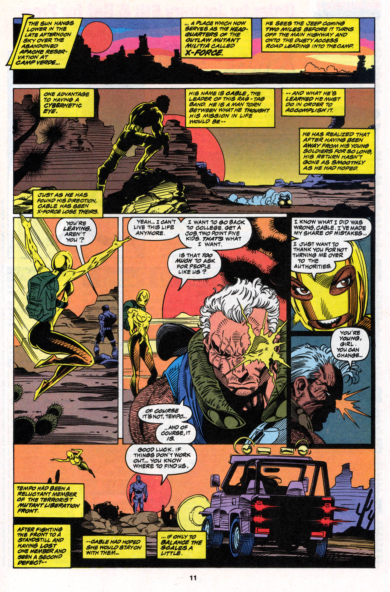 Read online X-Force (1991) comic -  Issue #30 - 12