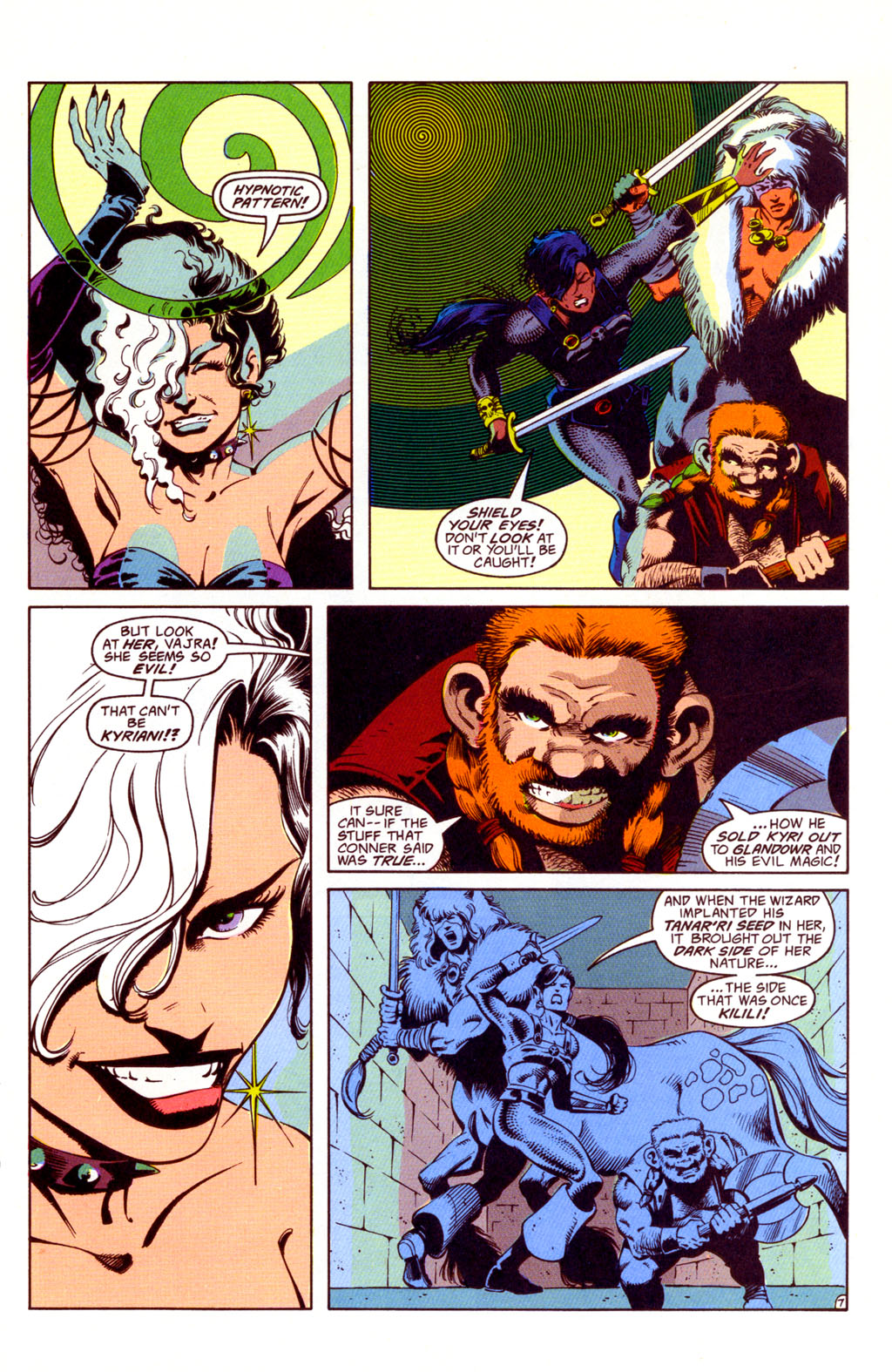 Read online Advanced Dungeons & Dragons comic -  Issue #36 - 7