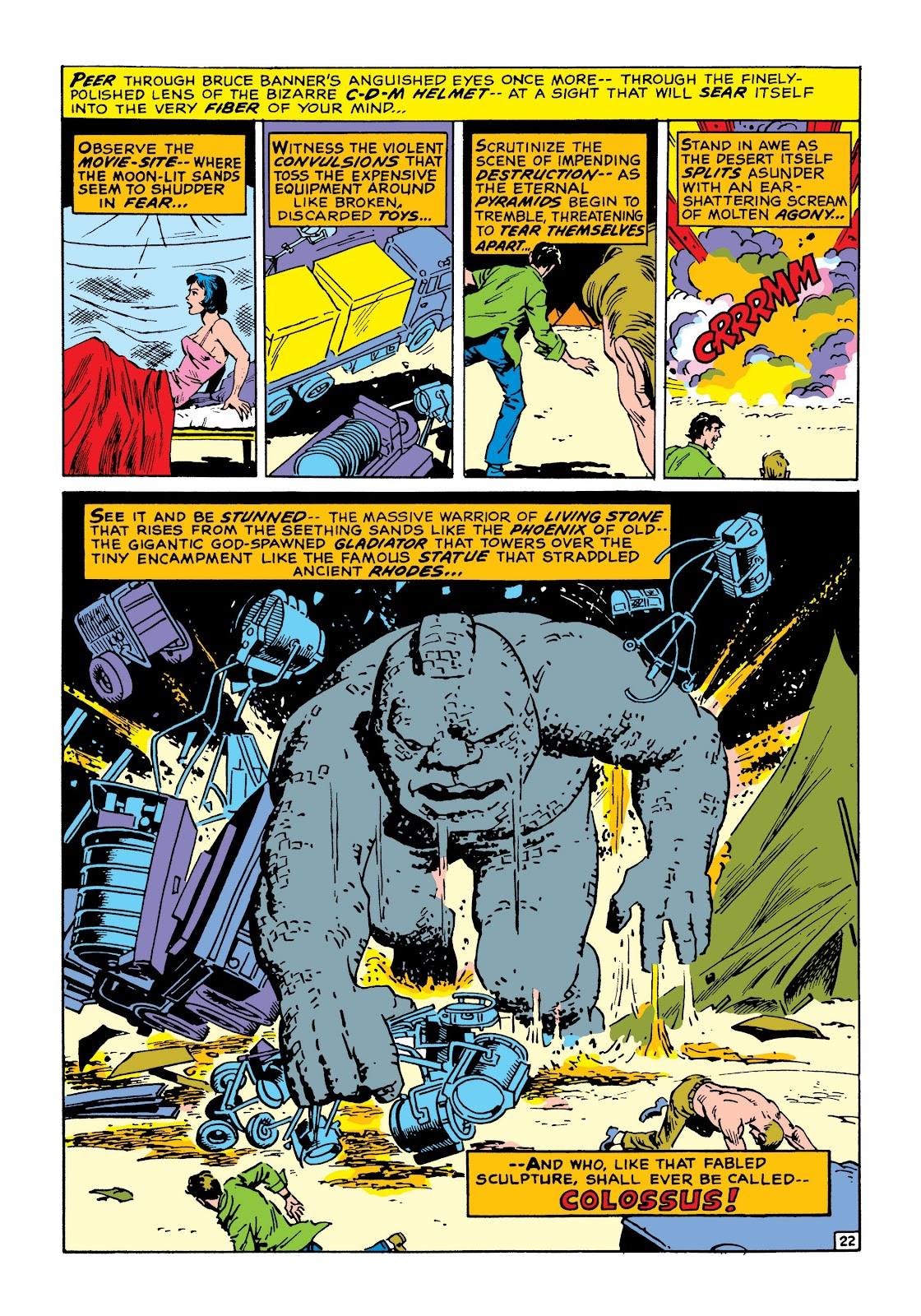 Read online Marvel Masterworks: The Incredible Hulk comic -  Issue # TPB 8 (Part 1) - 29