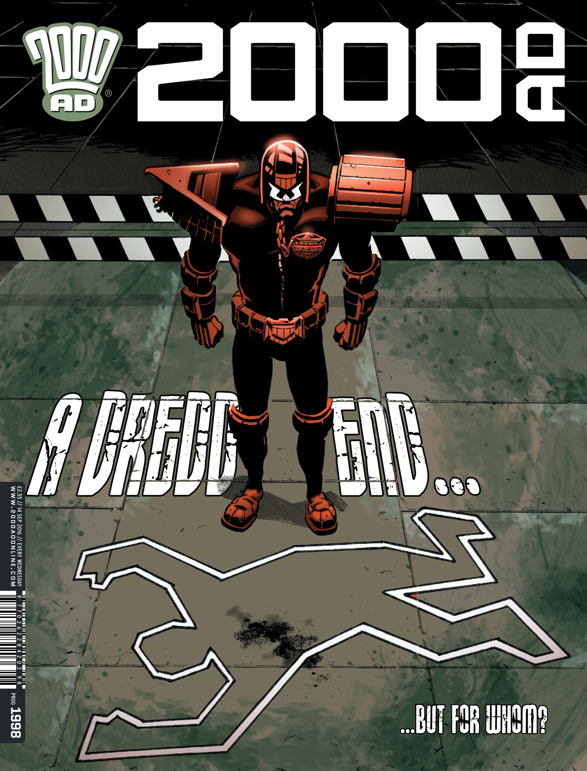 Read online 2000 AD comic -  Issue #1998 - 1