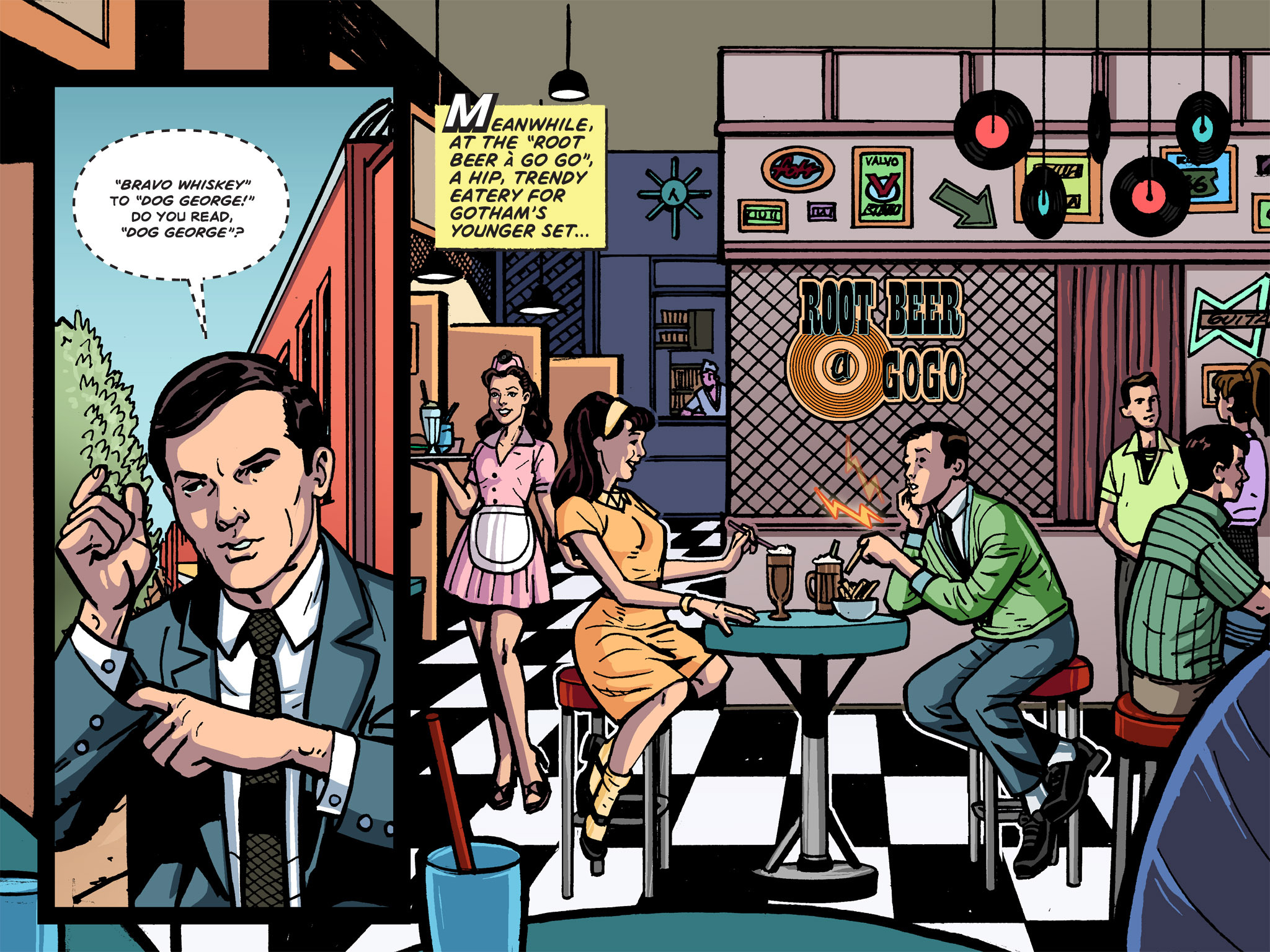 Read online Batman '66 Meets the Green Hornet [II] comic -  Issue #1 - 80