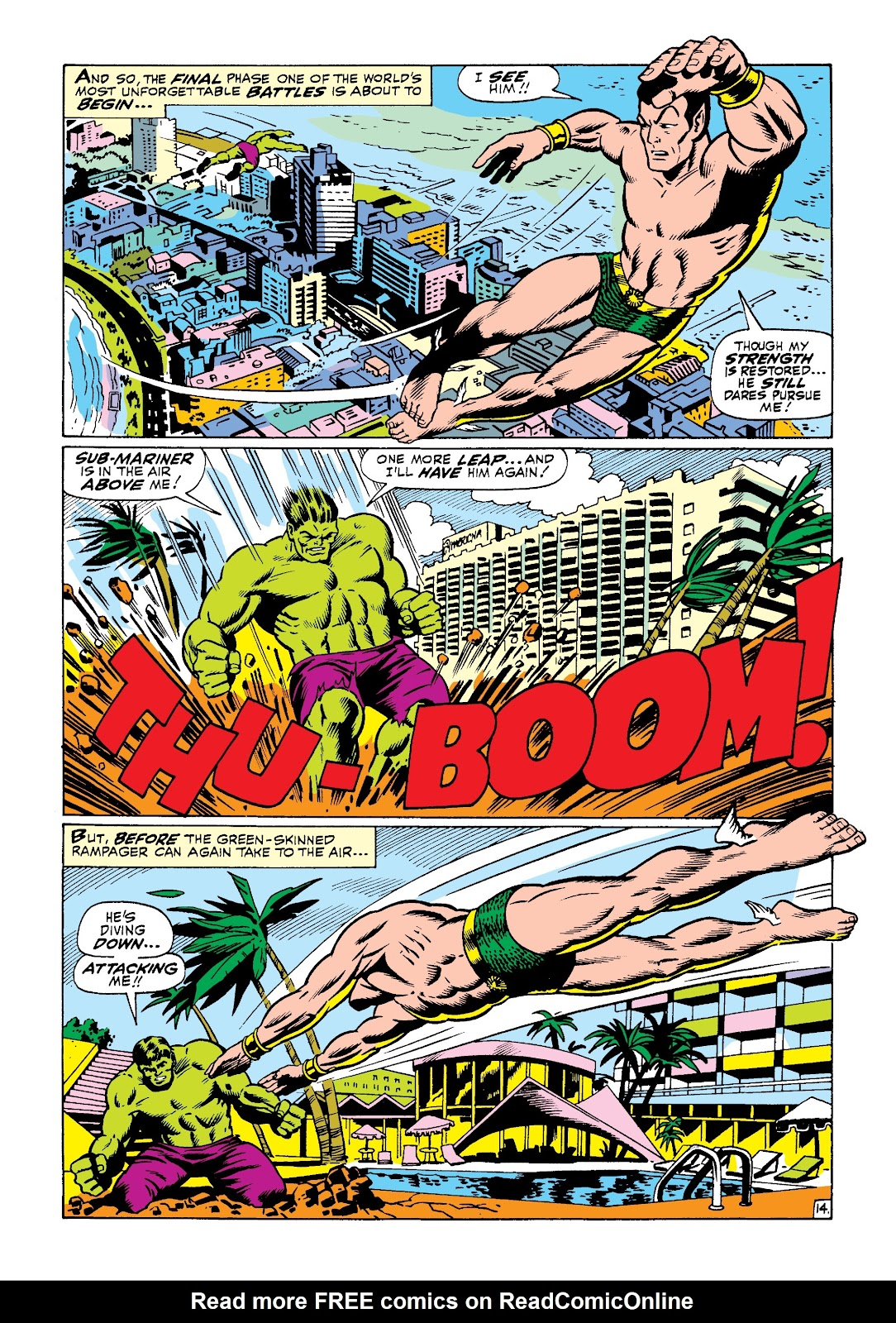 Read online Marvel Masterworks: The Incredible Hulk comic -  Issue # TPB 3 (Part 3) - 42