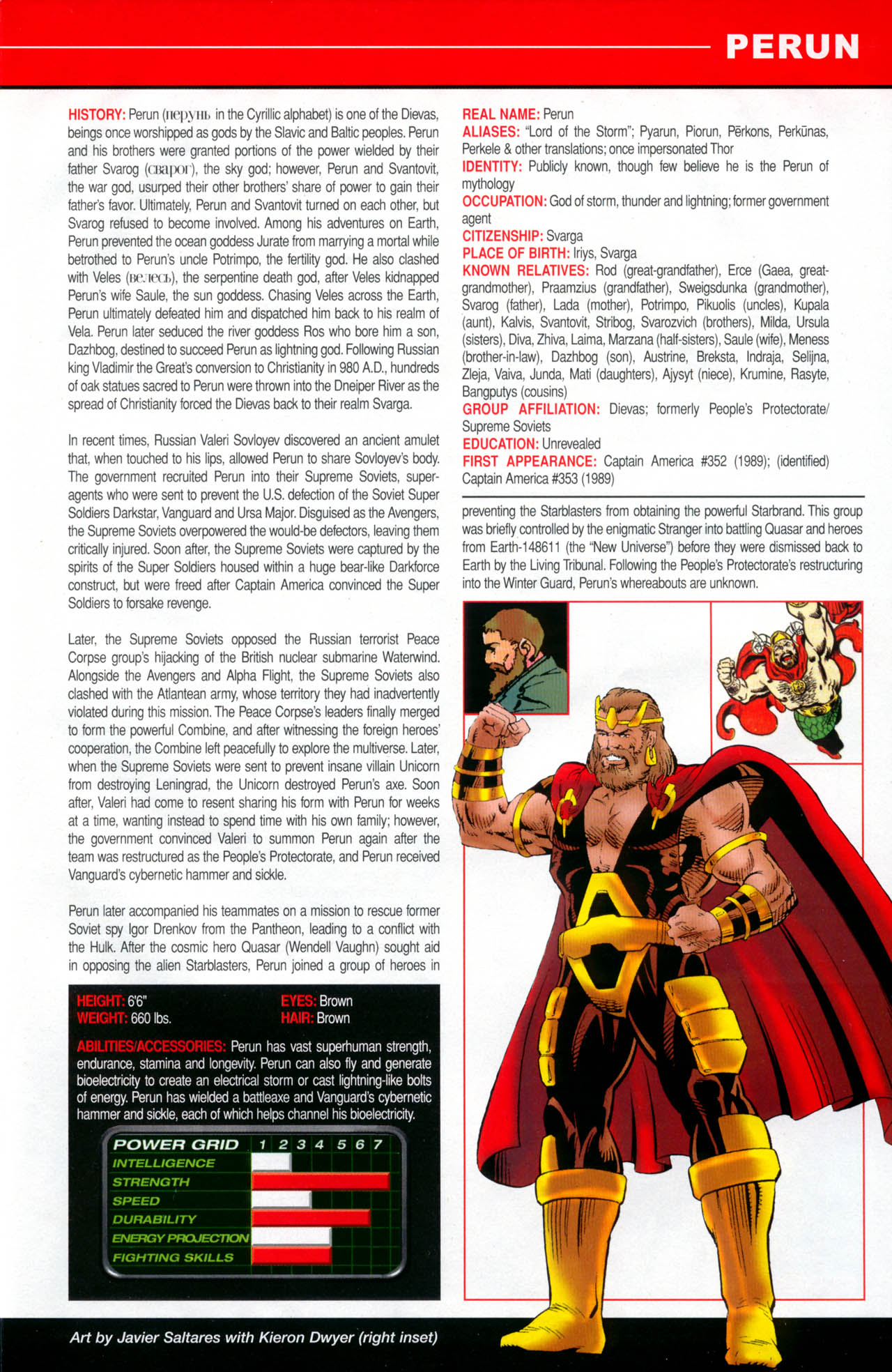 Read online All-New Official Handbook of the Marvel Universe A to Z: Update comic -  Issue #2 - 45
