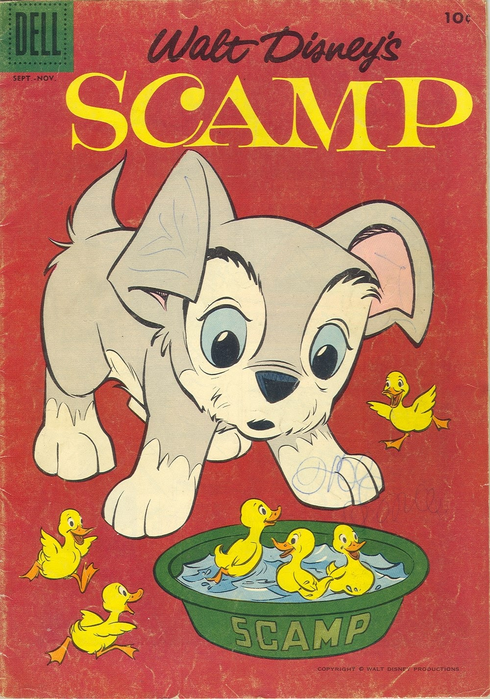 Scamp (1958) 7 Page 1