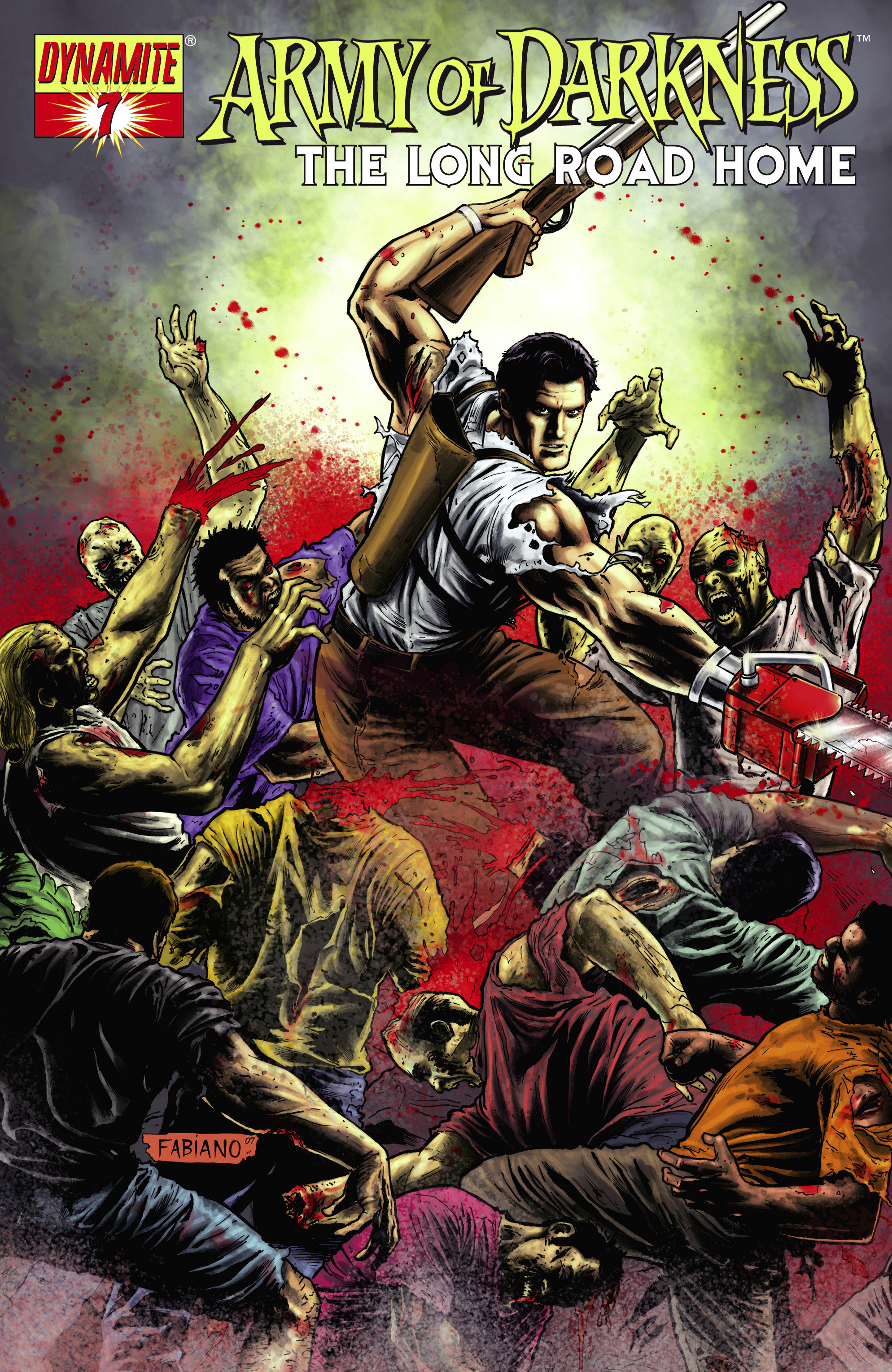 Read online Army of Darkness: The Long Road Home comic -  Issue #Army of Darkness: The Long Road Home TPB - 54
