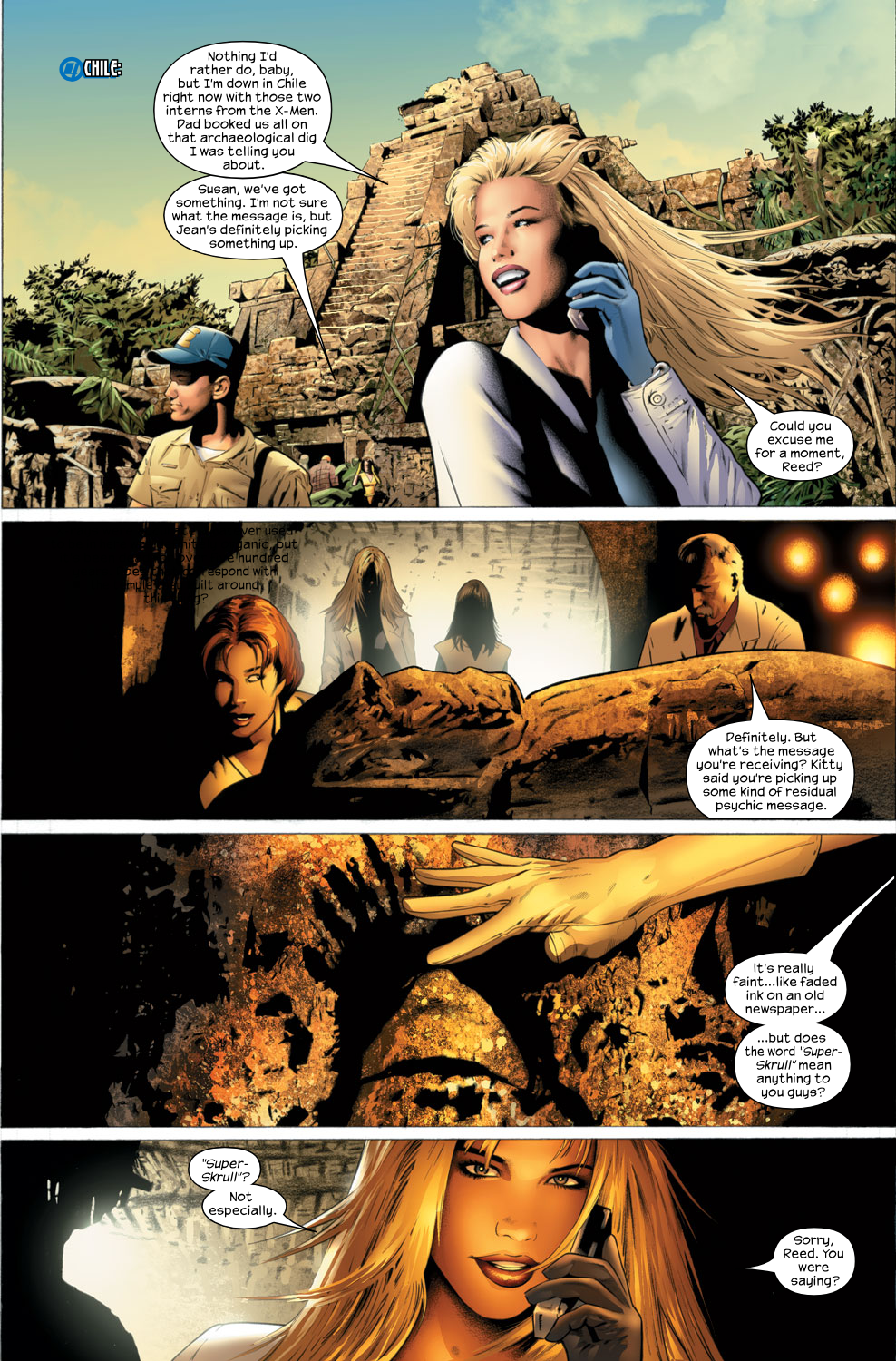 Read online Ultimate Fantastic Four (2004) comic -  Issue #27 - 7