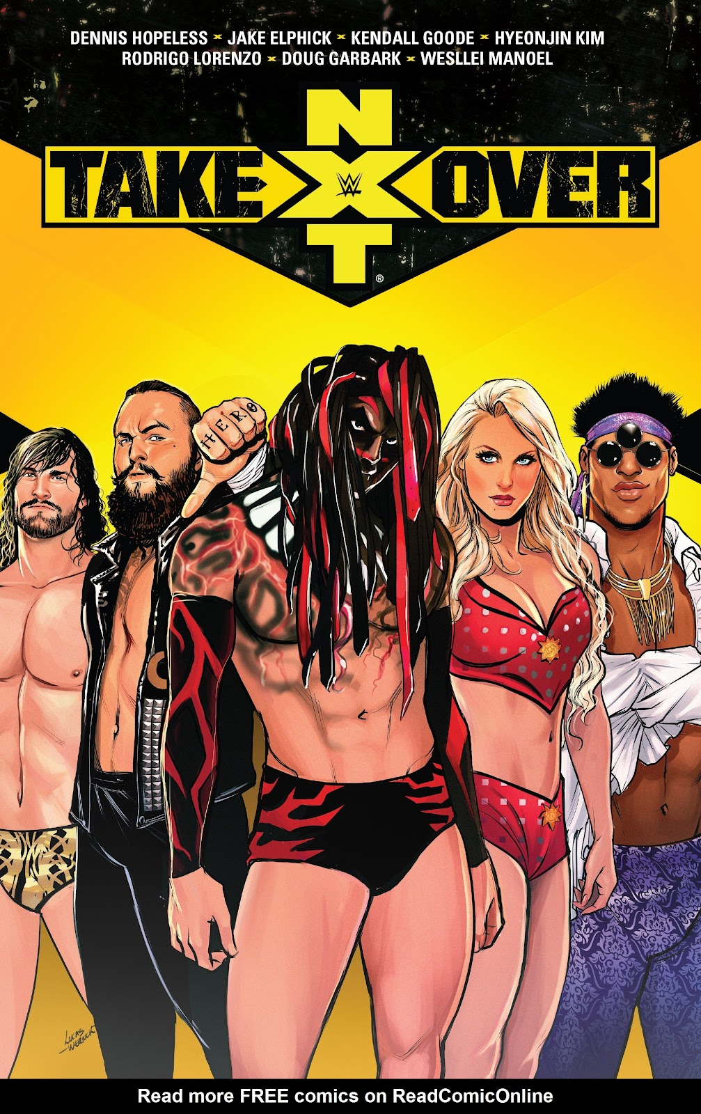 WWE: NXT Takeover issue TPB - Page 1