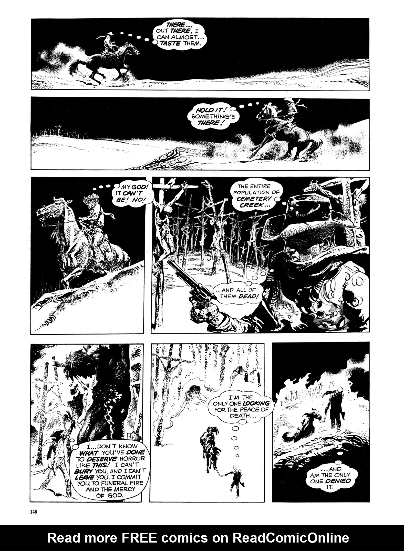 Read online Eerie Archives comic -  Issue # TPB 14 - 147