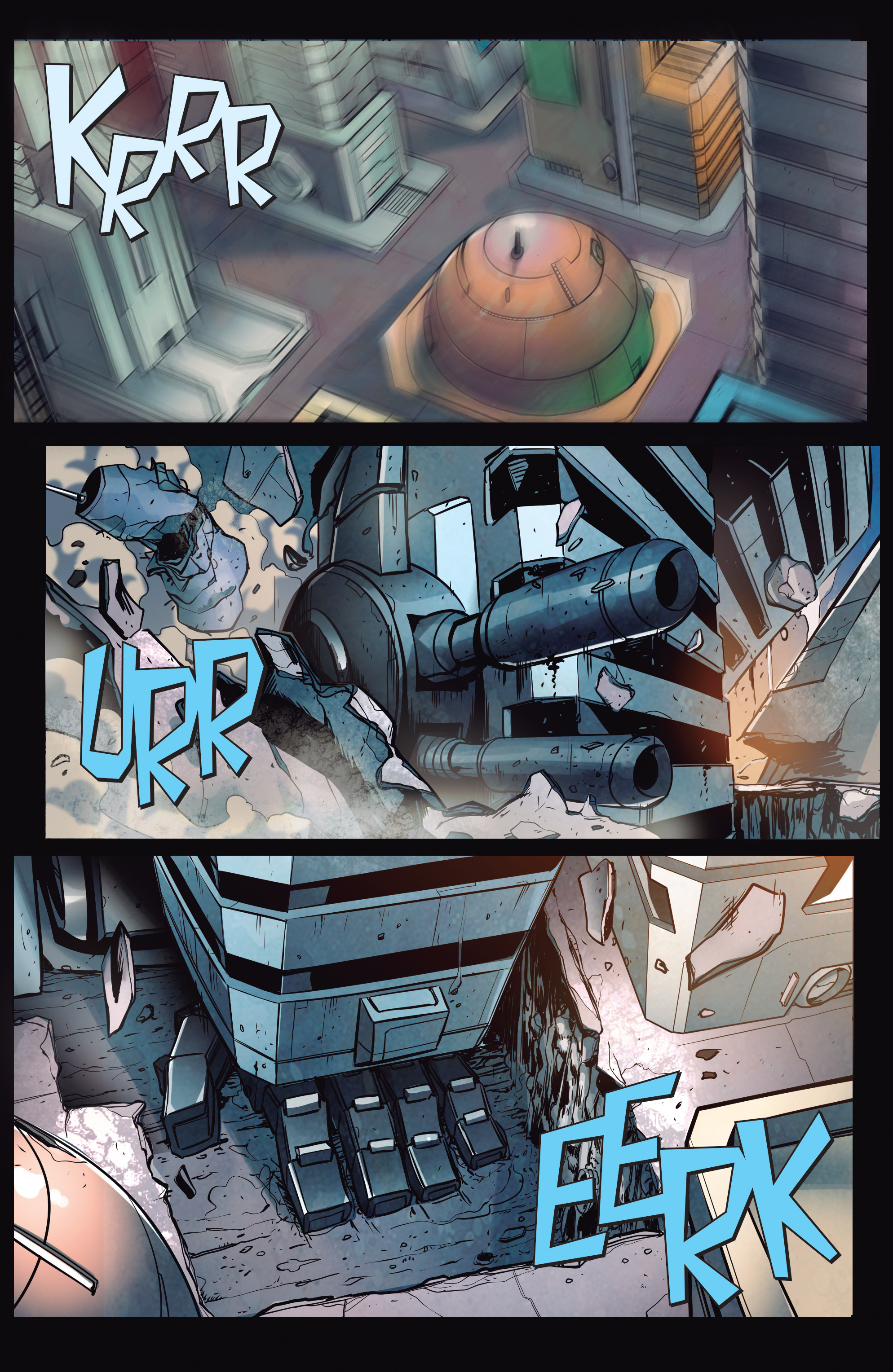 Read online Transformers: Till All Are One comic -  Issue #5 - 16