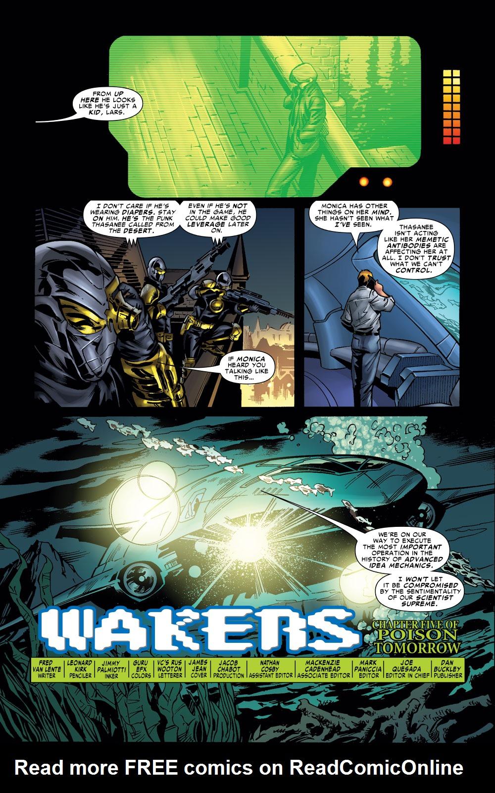 Read online Amazing Fantasy (2004) comic -  Issue #11 - 4