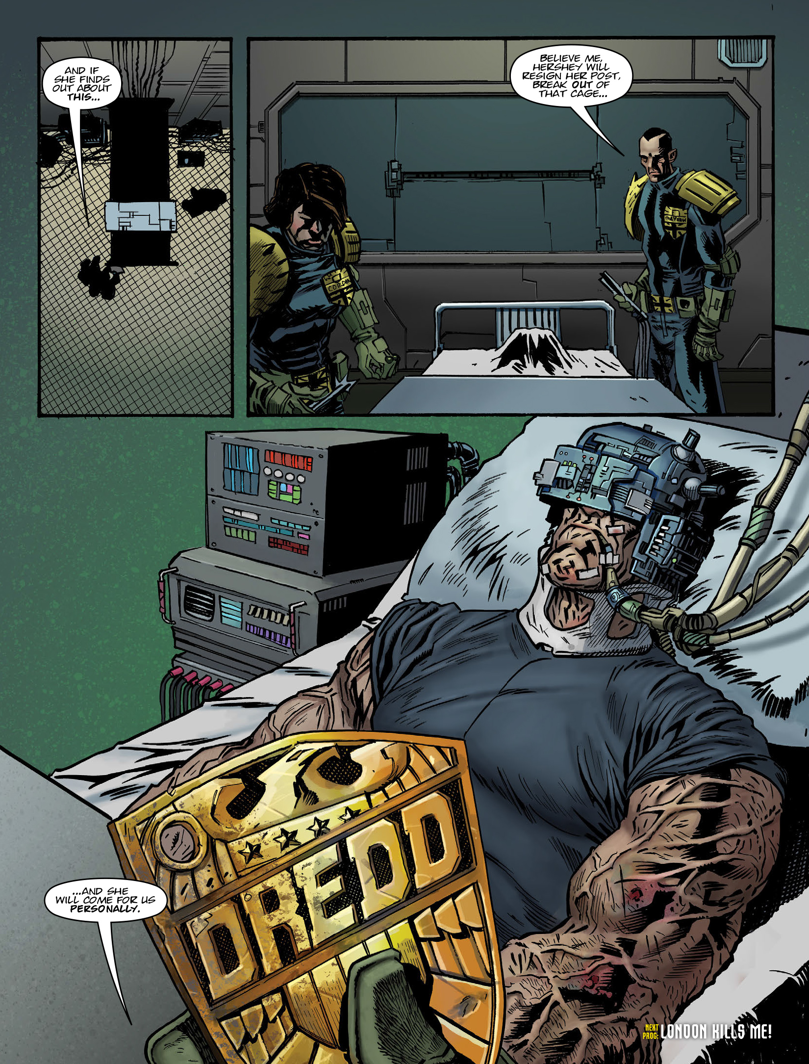 Read online 2000 AD comic -  Issue #1980 - 8
