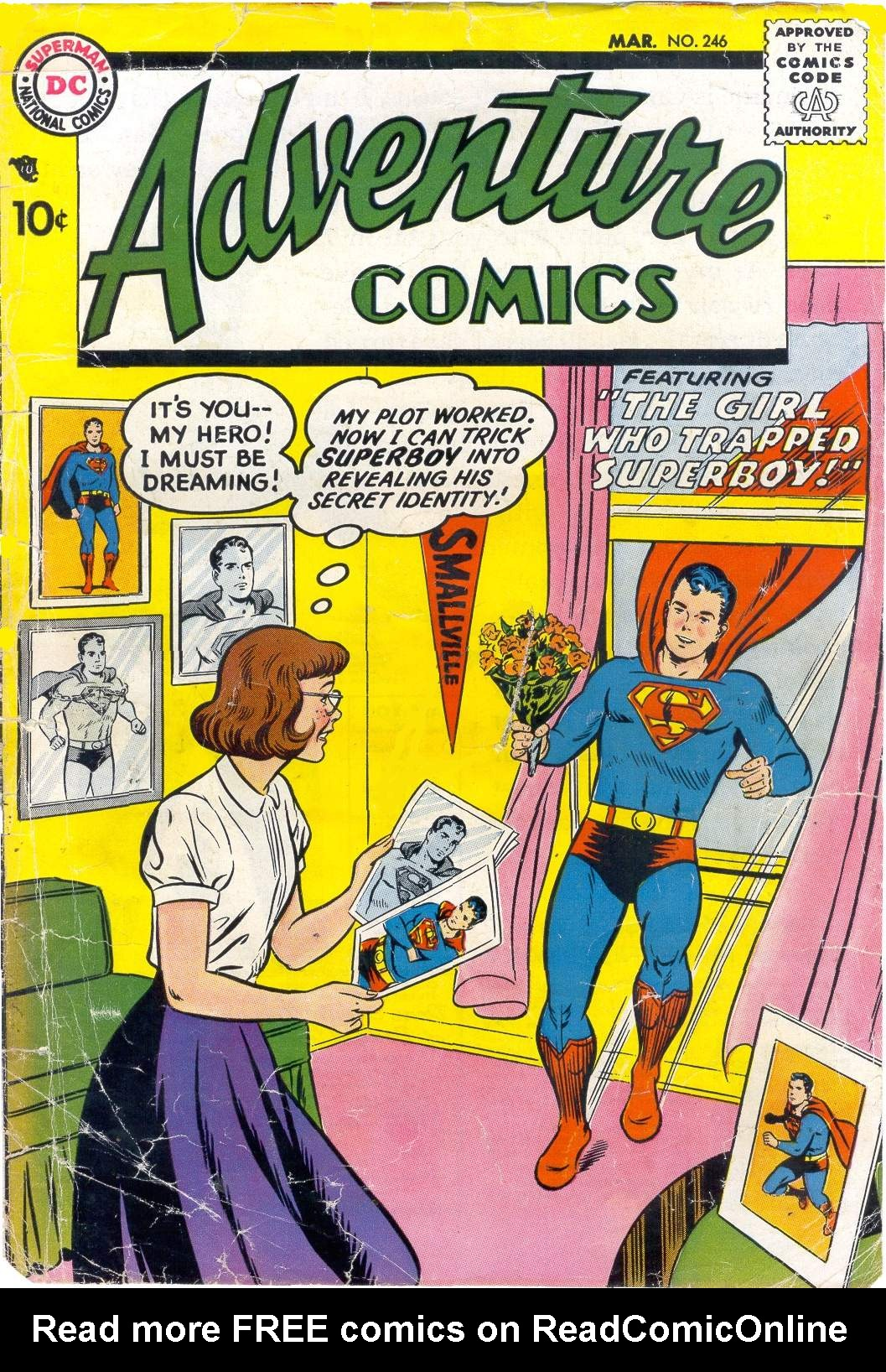 Read online Adventure Comics (1938) comic -  Issue #246 - 1