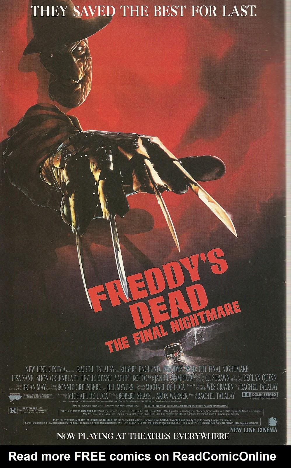 Read online Freddy's Dead: The Final Nightmare comic -  Issue #2 - 28
