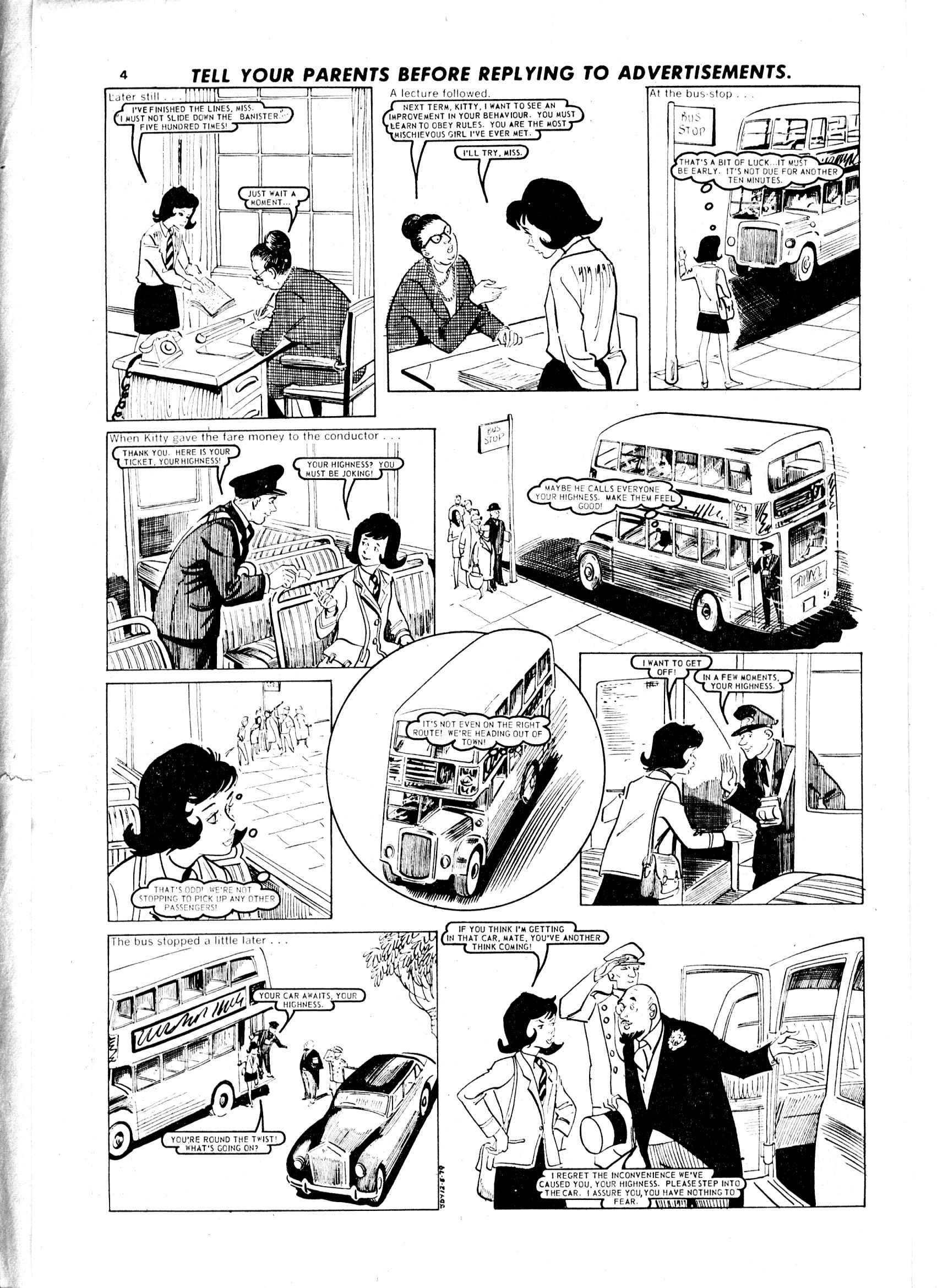 Read online Judy comic -  Issue #9 - 4