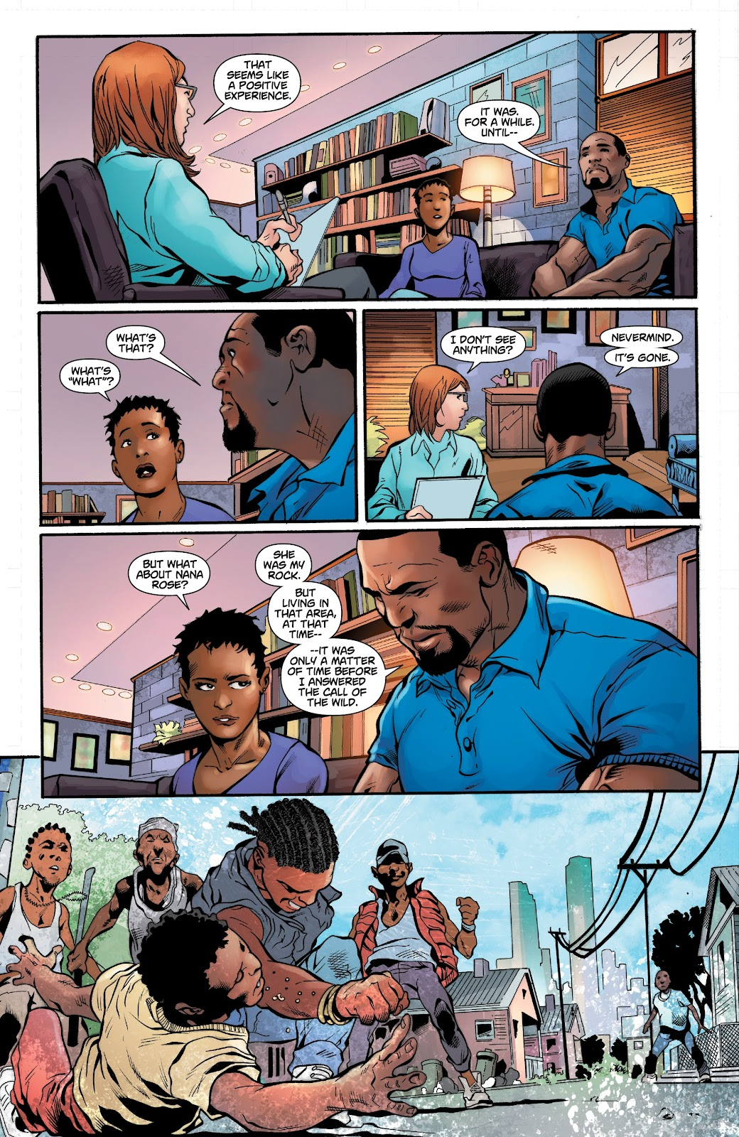 Read online Noble comic -  Issue #15 - 9