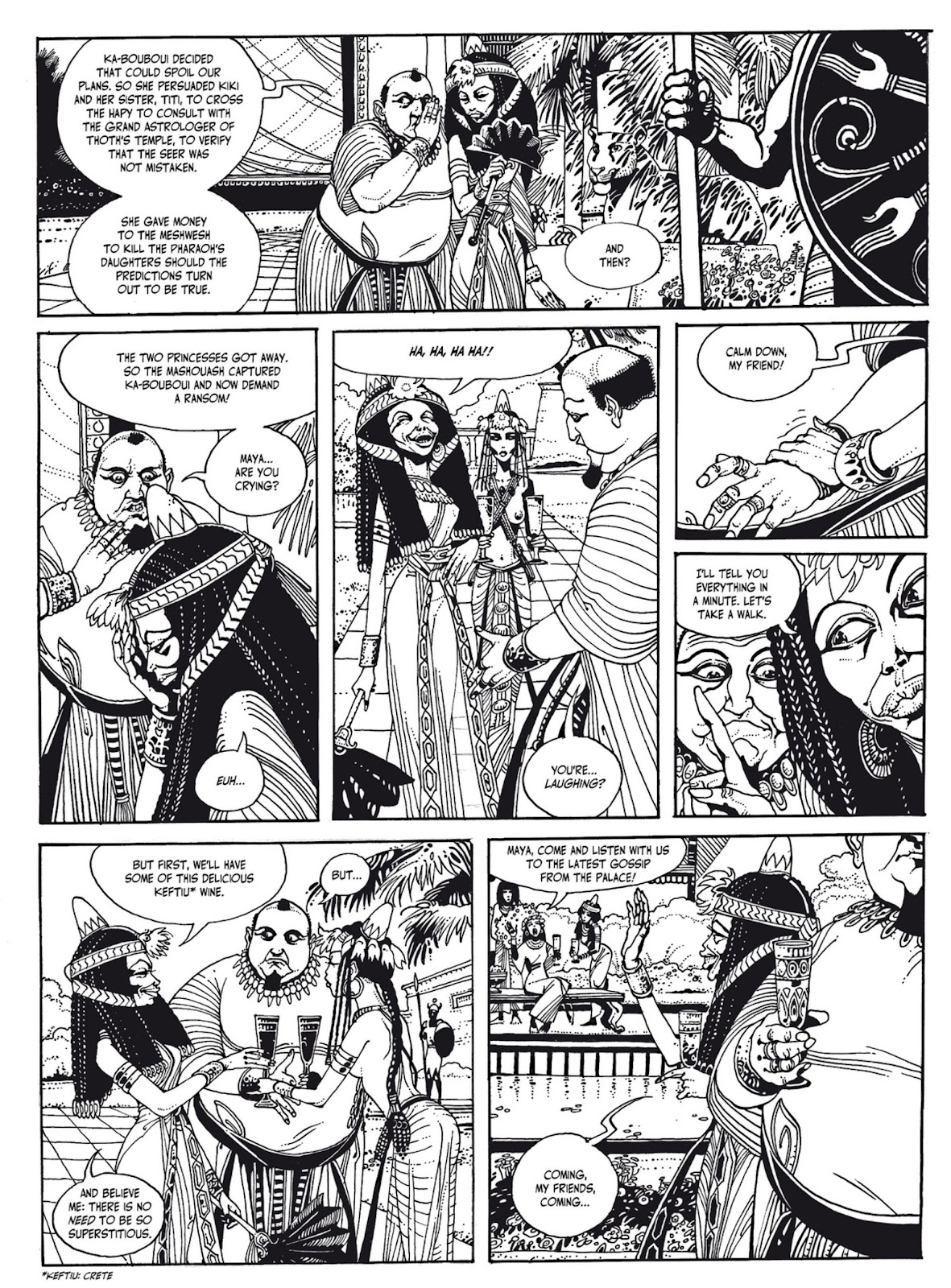 Read online The Egyptian Princesses comic -  Issue # TPB 1 (Part 1) - 35