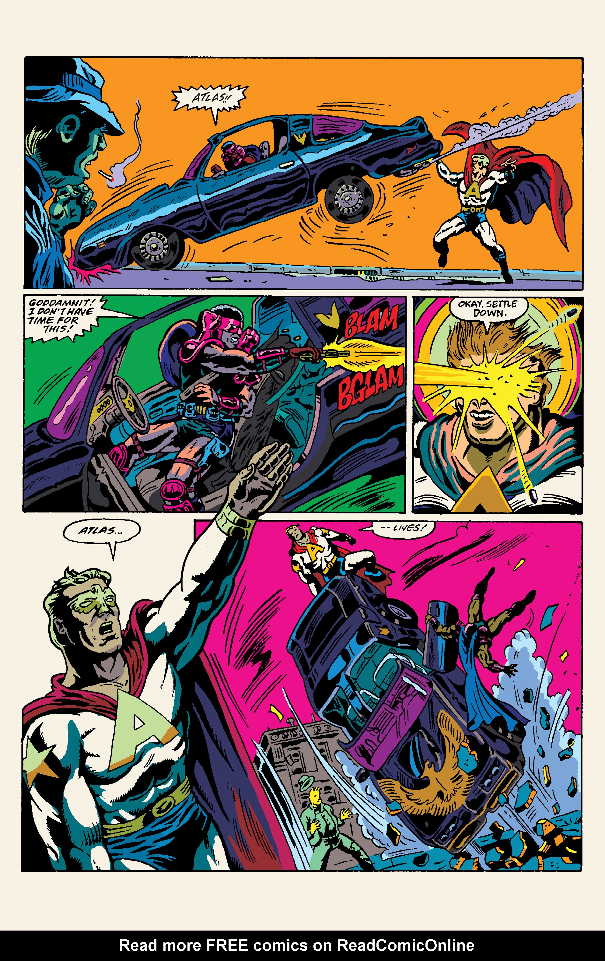 Read online All Time Comics: Crime Destroyer comic -  Issue #1 - 7