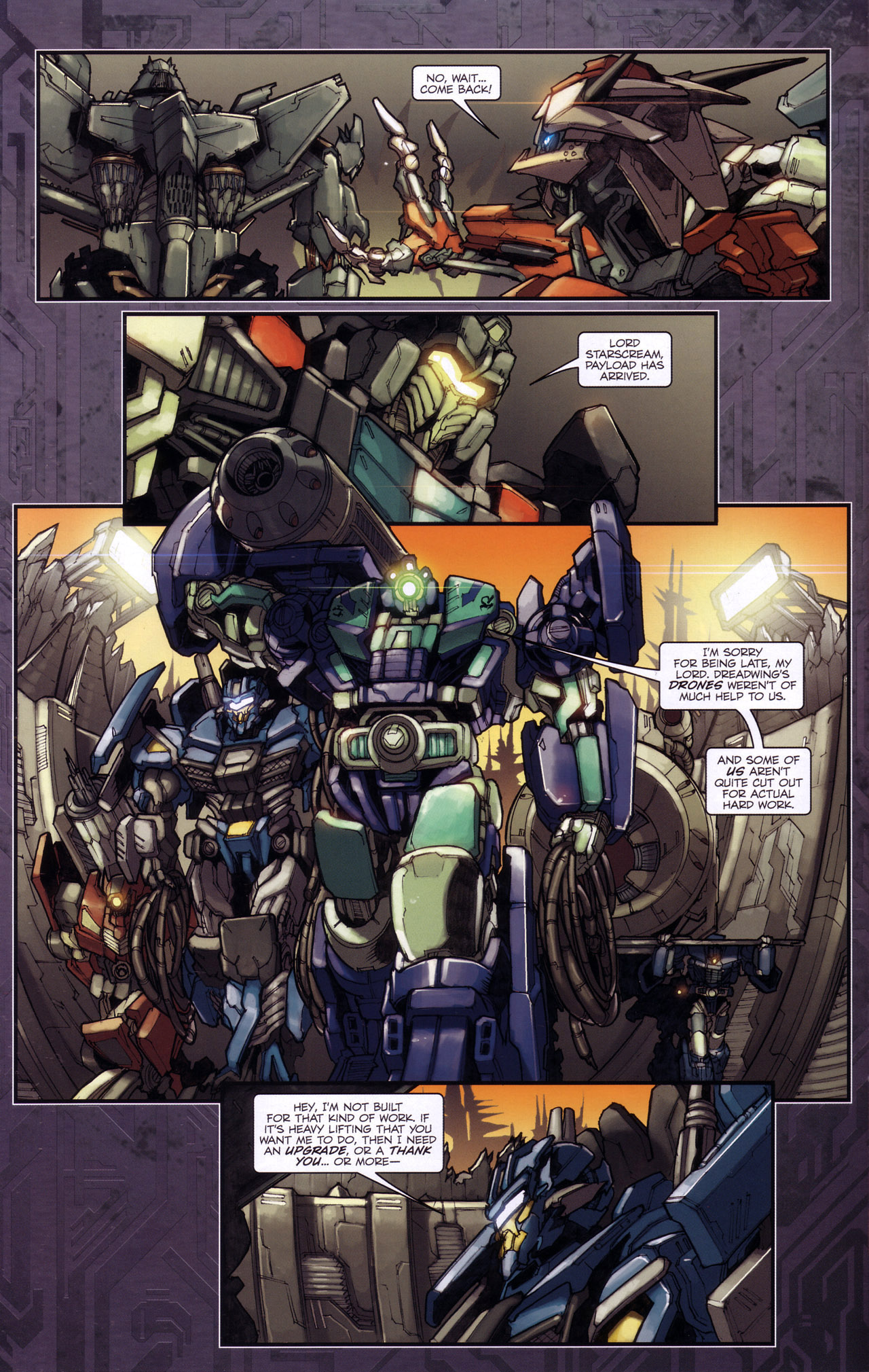 Read online Transformers: The Reign of Starscream comic -  Issue #4 - 16