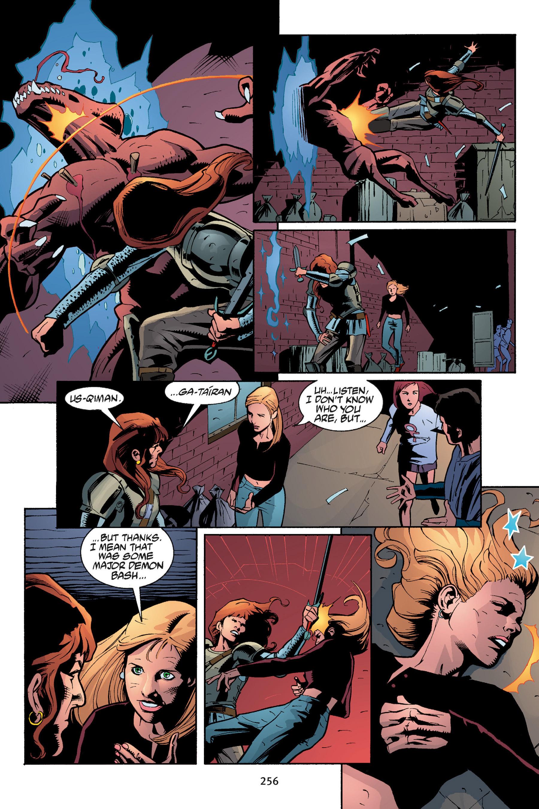 Read online Buffy the Vampire Slayer: Omnibus comic -  Issue # TPB 5 - 255