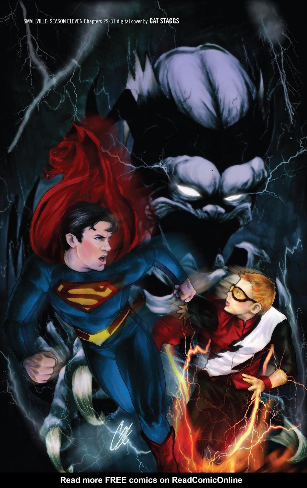 Read online Smallville Season 11 [II] comic -  Issue # TPB 3 - 134