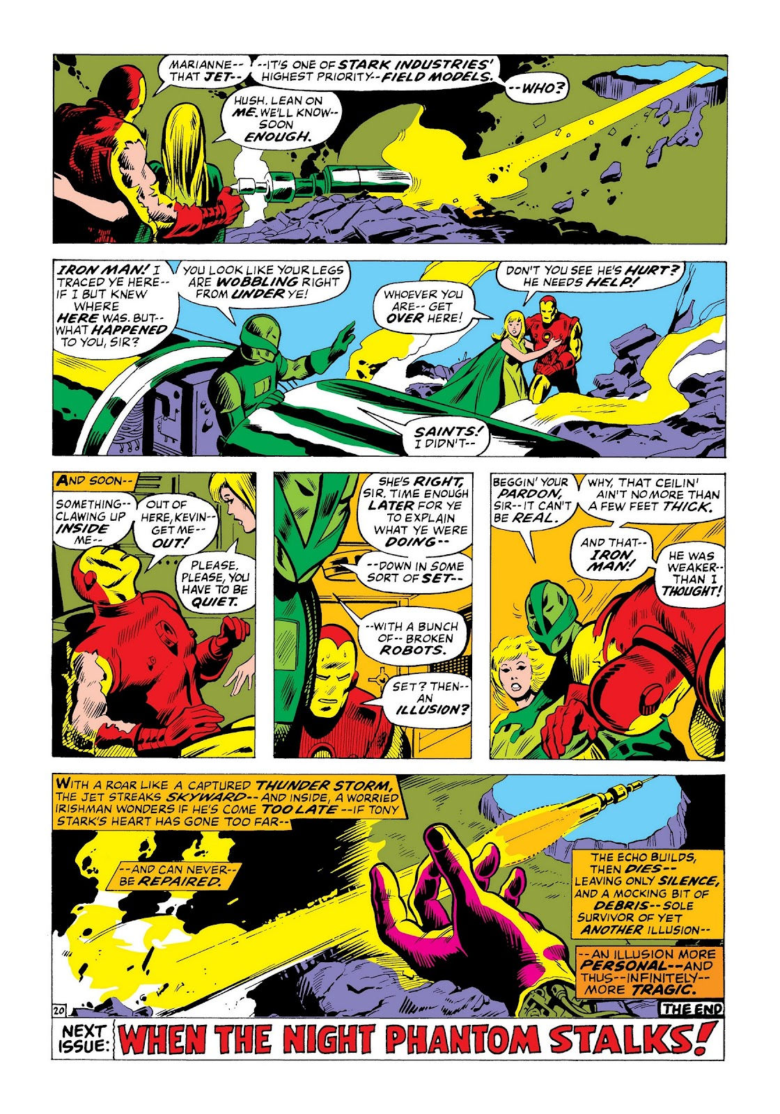Read online Marvel Masterworks: The Invincible Iron Man comic -  Issue # TPB 8 (Part 2) - 7