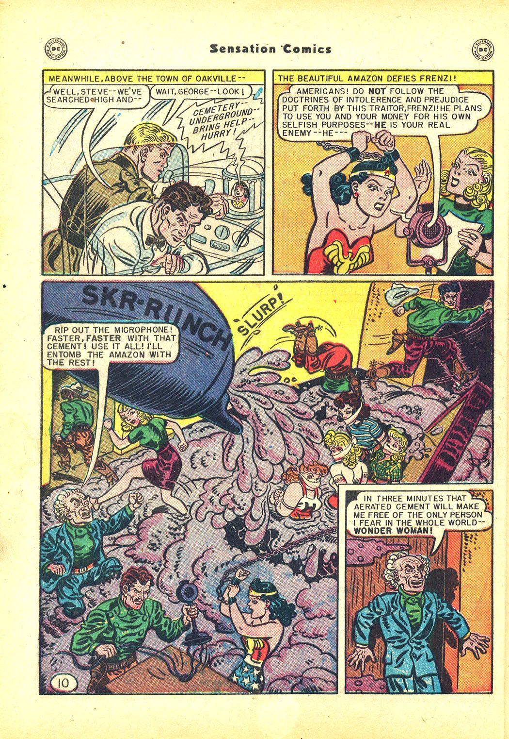 Read online Sensation (Mystery) Comics comic -  Issue #81 - 12