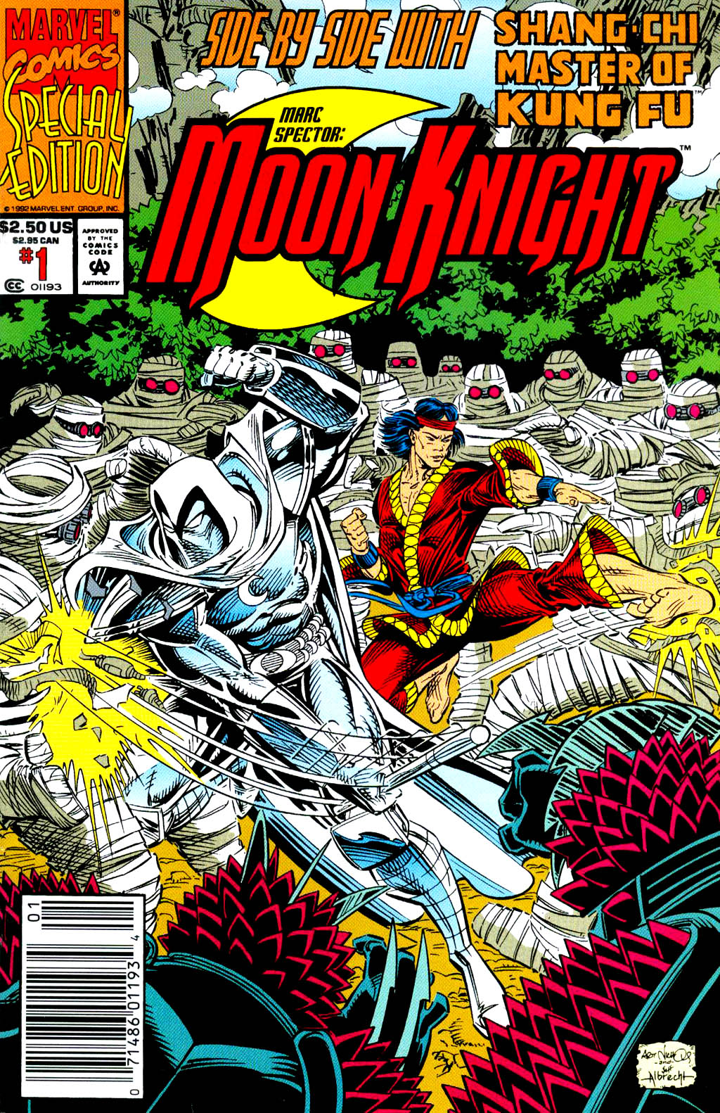 Marc Spector: Moon Knight issue Special_1 - Page 1