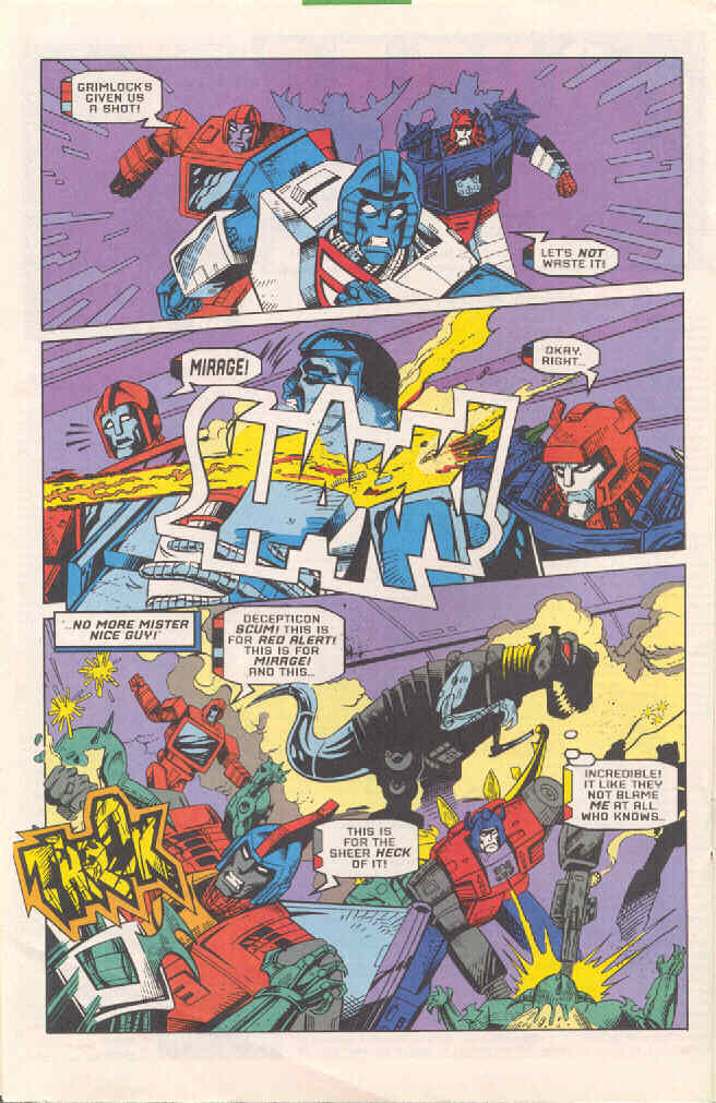 Read online Transformers: Generation 2 comic -  Issue #4 - 16