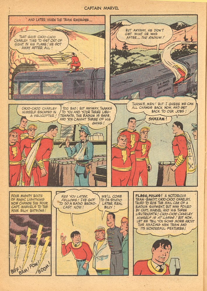 Captain Marvel Adventures issue 62 - Page 22
