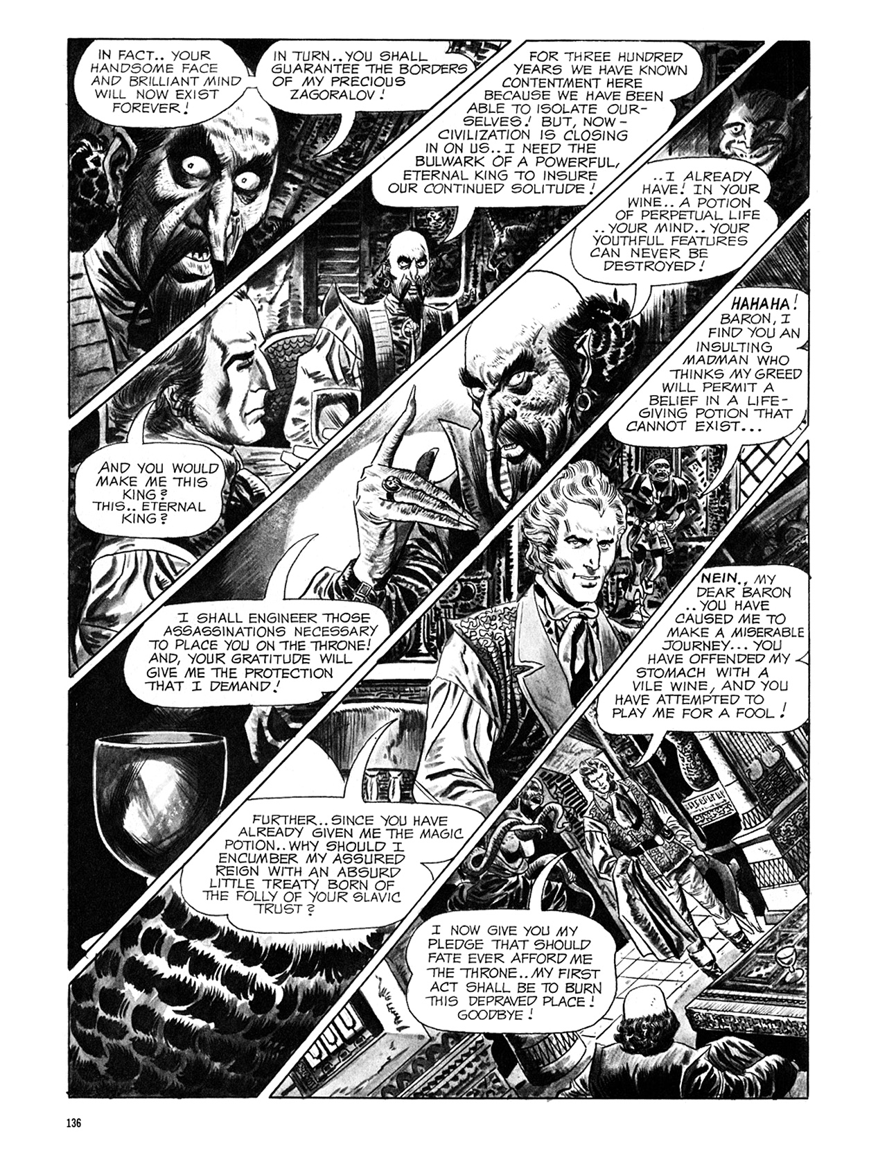Read online Eerie Archives comic -  Issue # TPB 6 - 136