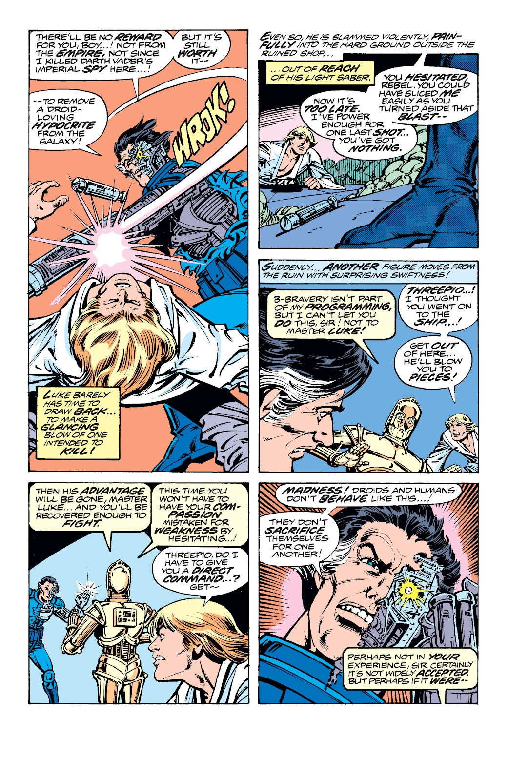 Read online Star Wars Legends: The Original Marvel Years - Epic Collection comic -  Issue # TPB 2 (Part 1) - 76