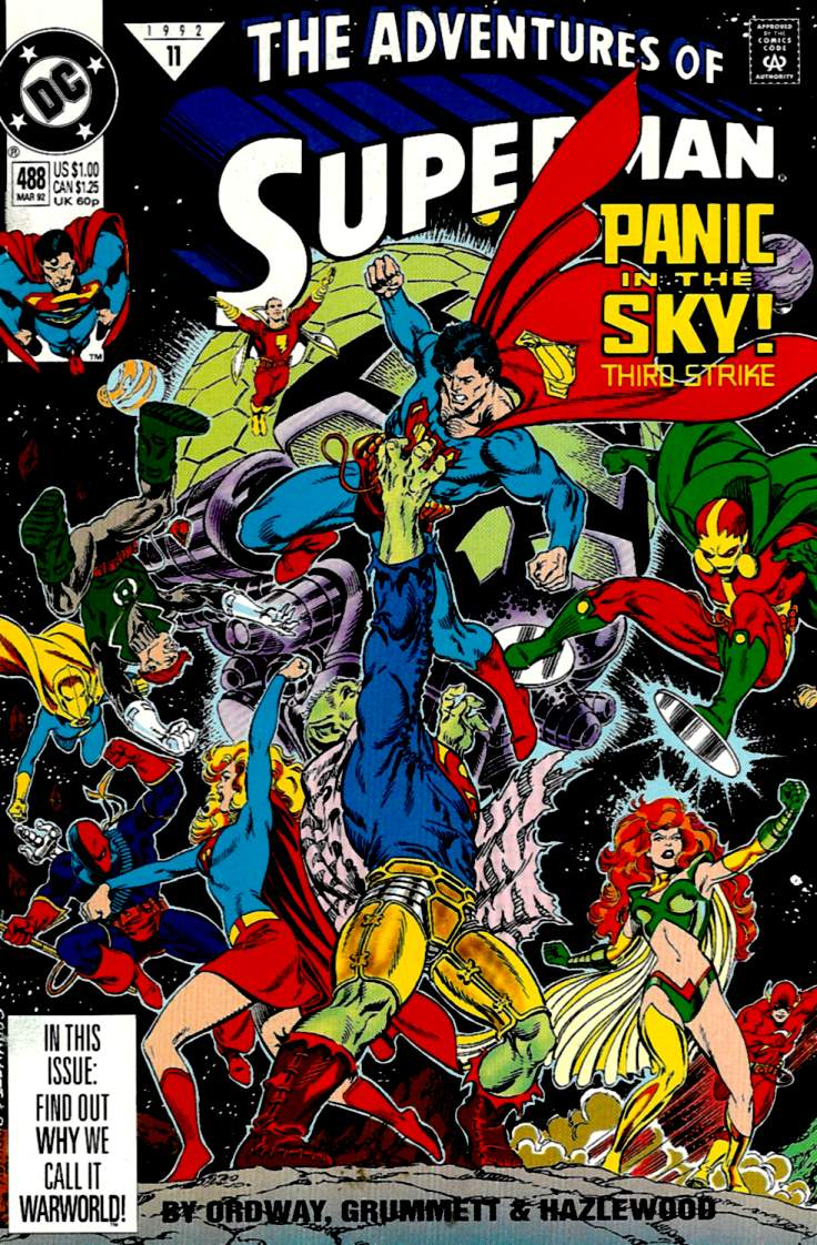 Read online Adventures of Superman (1987) comic -  Issue #488 - 1