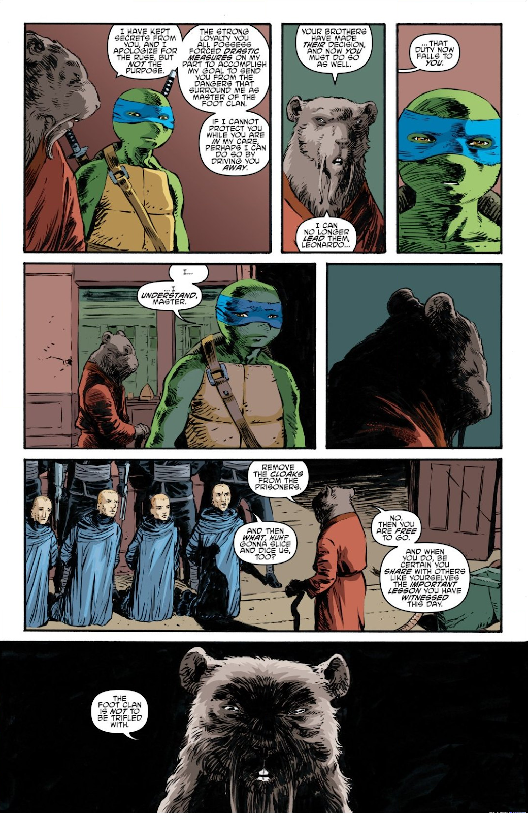 Read online Teenage Mutant Ninja Turtles: The IDW Collection comic -  Issue # TPB 7 (Part 3) - 113