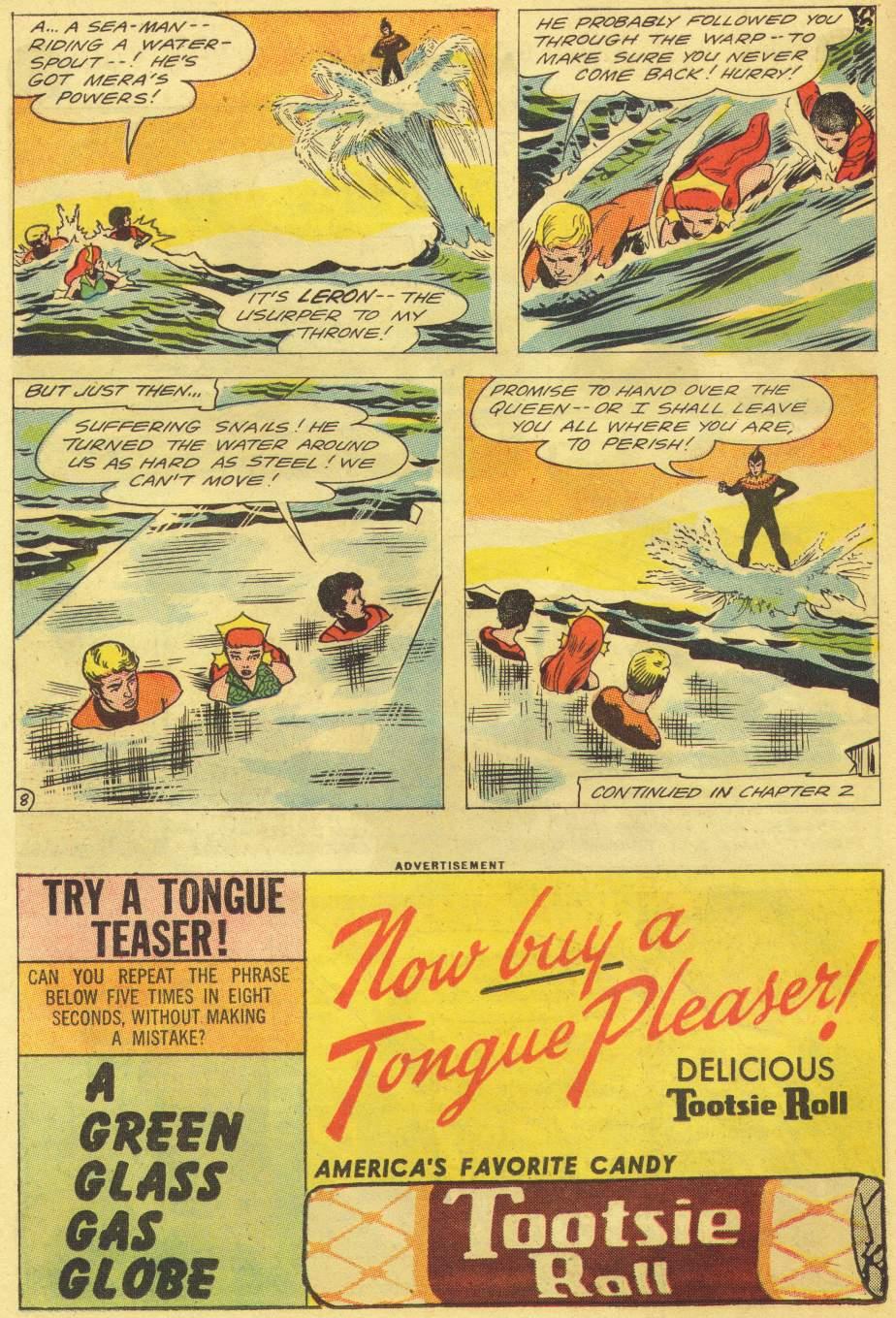 Read online Aquaman (1962) comic -  Issue #11 - 10