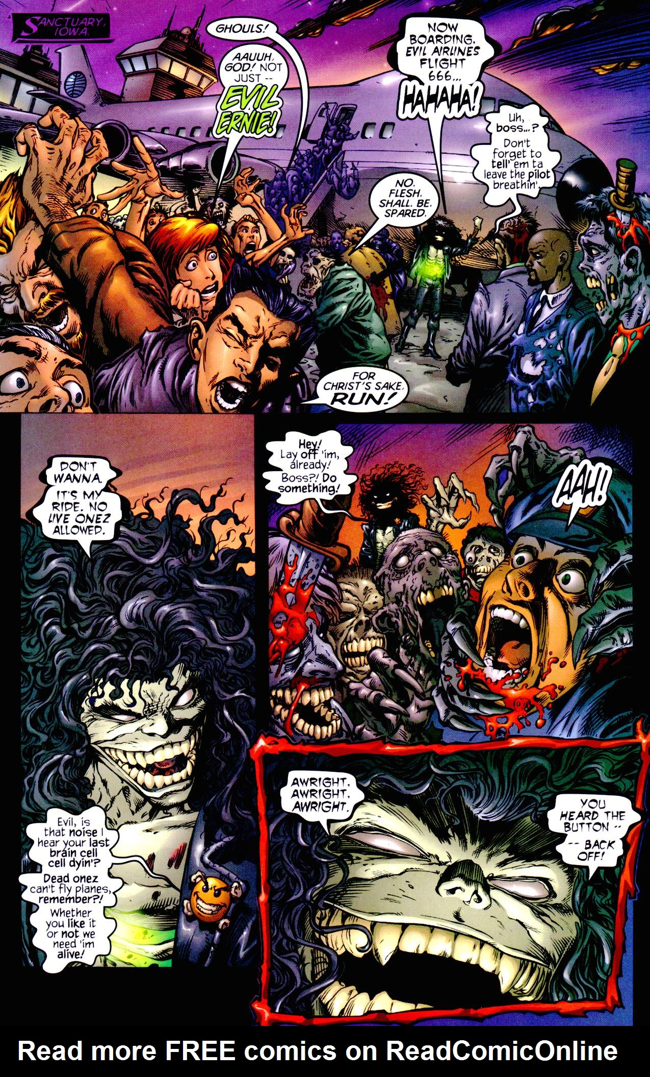 Read online Armageddon (1999) comic -  Issue #1 - 7