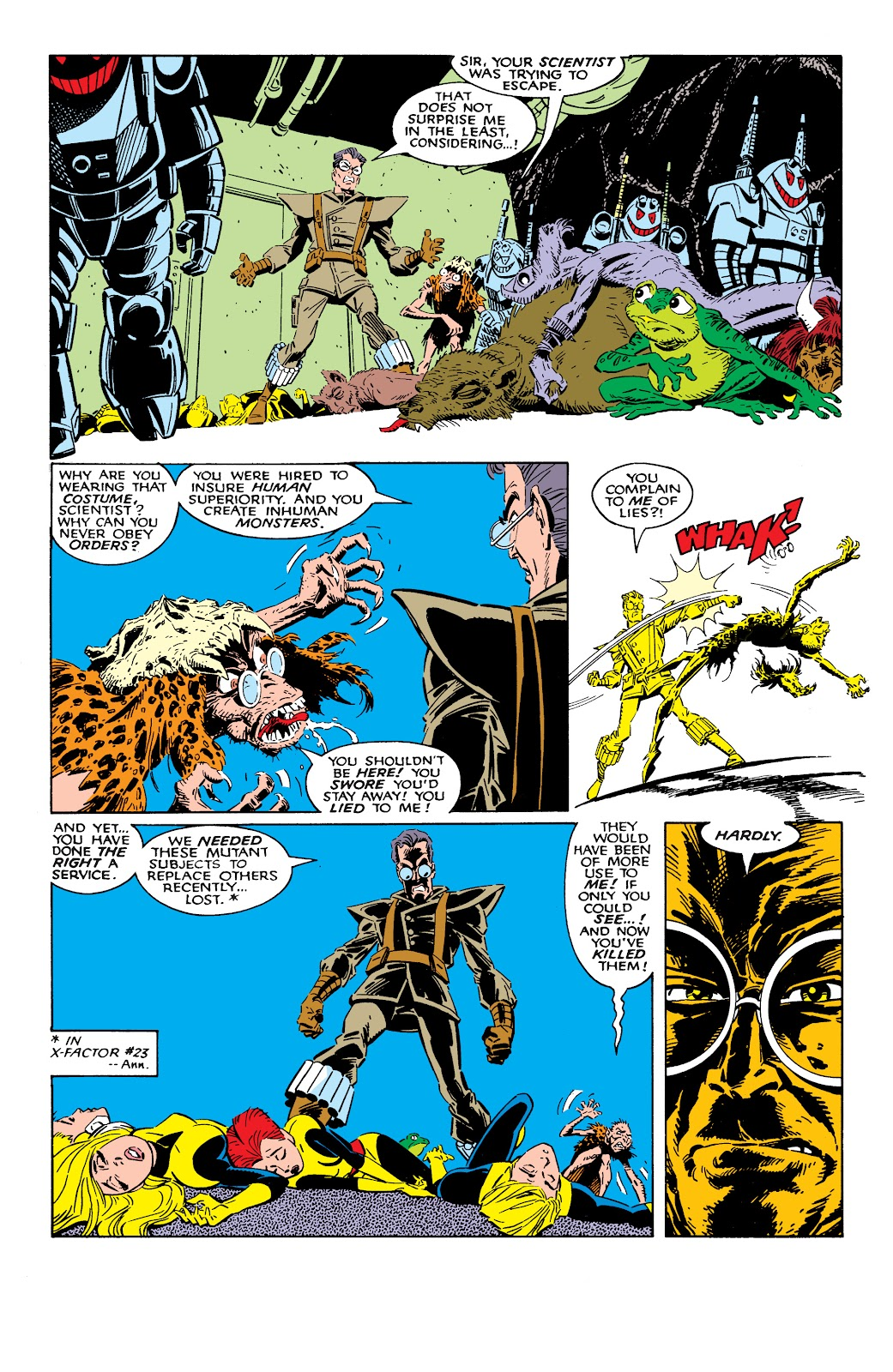 Read online X-Men Milestones: Fall of the Mutants comic -  Issue # TPB (Part 2) - 40