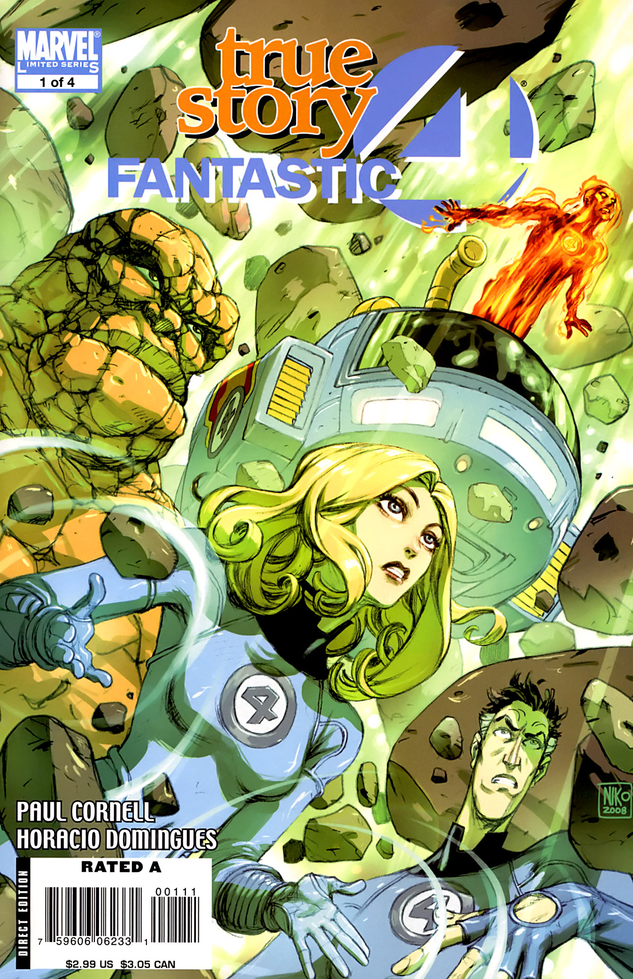Fantastic Four: True Story 1 Page 1