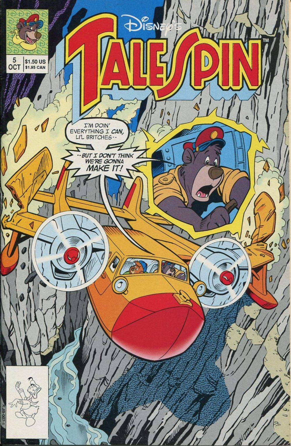 Read online Disney's Tale Spin comic -  Issue #5 - 1