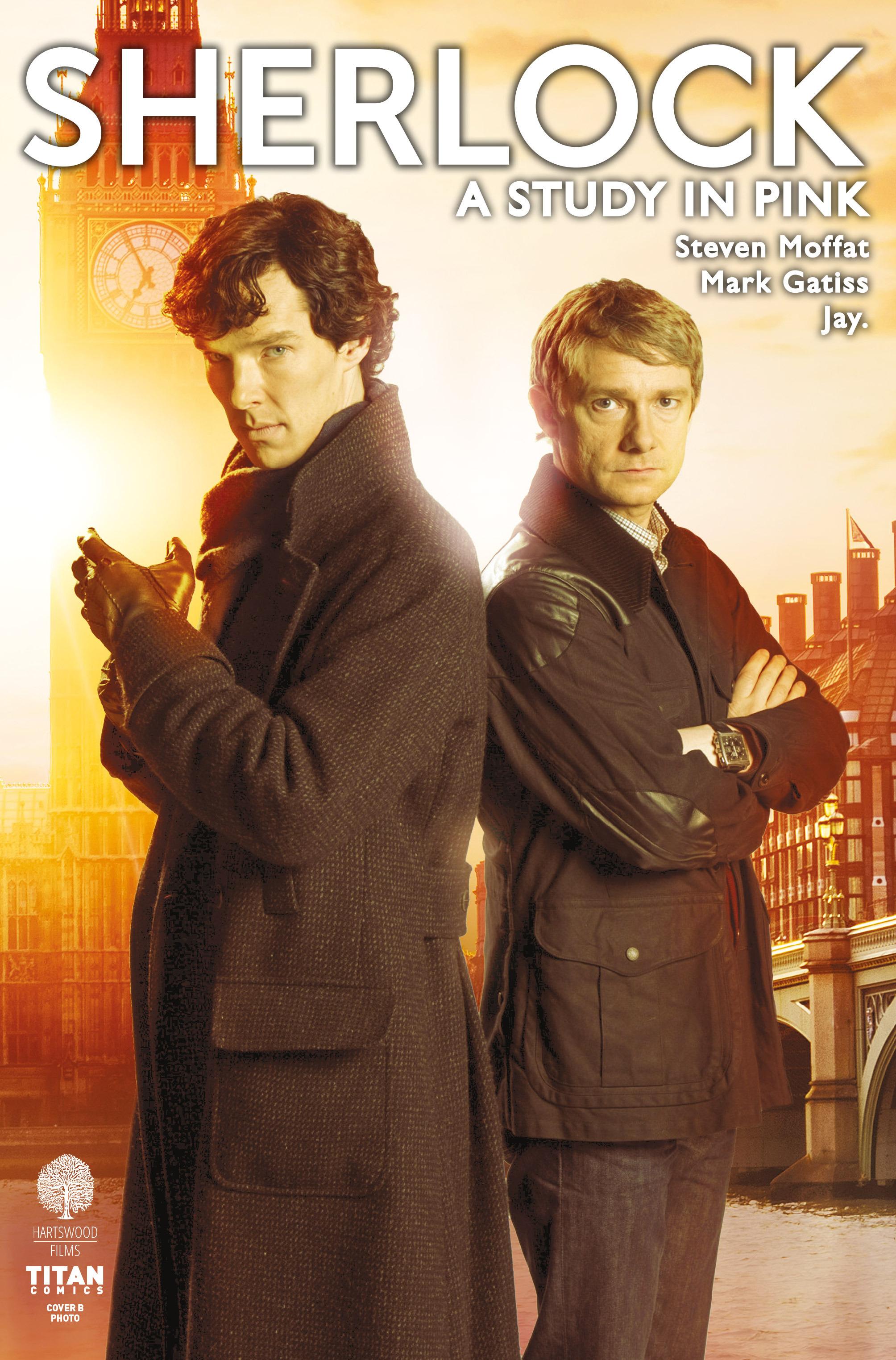 Read online Sherlock: A Study In Pink comic -  Issue #1 - 2