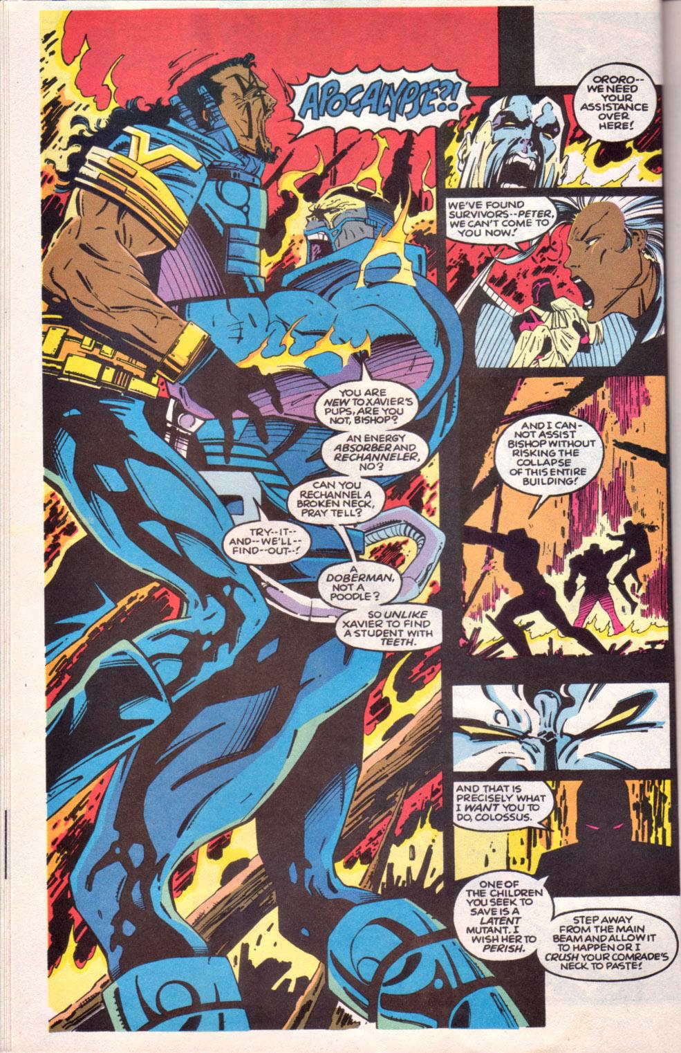 Read online Uncanny X-Men (1963) comic -  Issue # _Annual 16 - 9