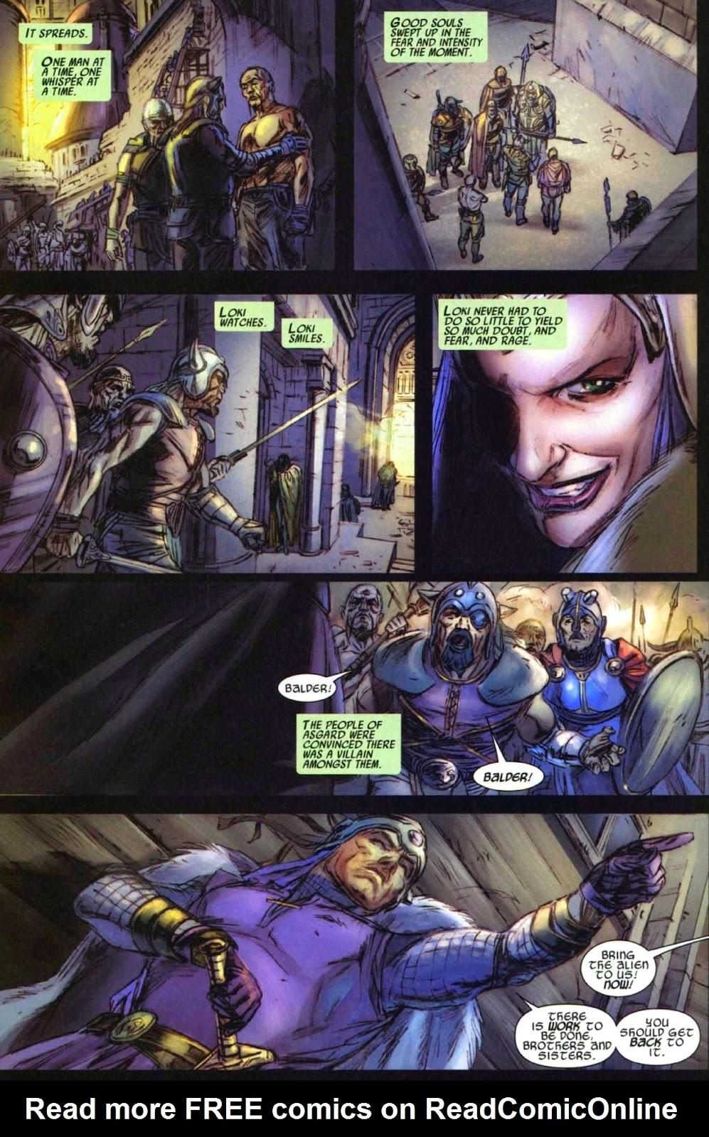 Secret Invasion: Thor Issue #1 #1 - English 15