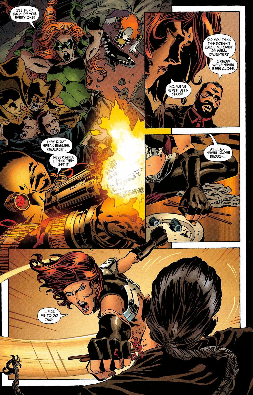 Read online Secret Six (2006) comic -  Issue #5 - 31