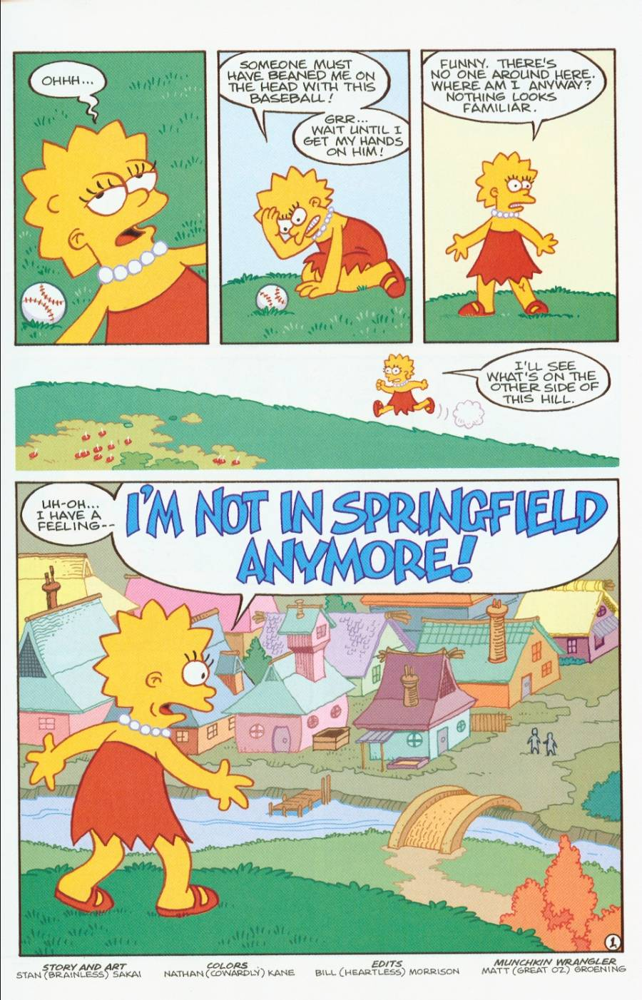 Read online Treehouse of Horror comic -  Issue #7 - 14