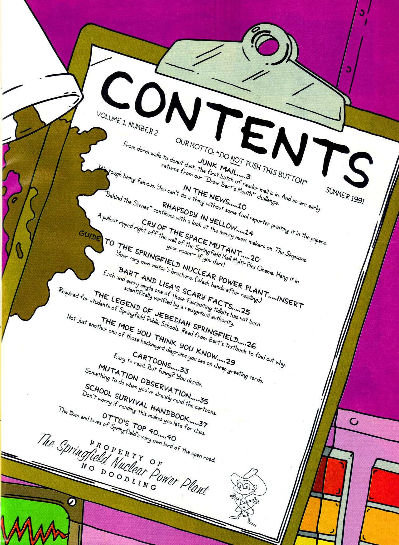 Read online Simpsons Illustrated (1991) comic -  Issue #2 - 3