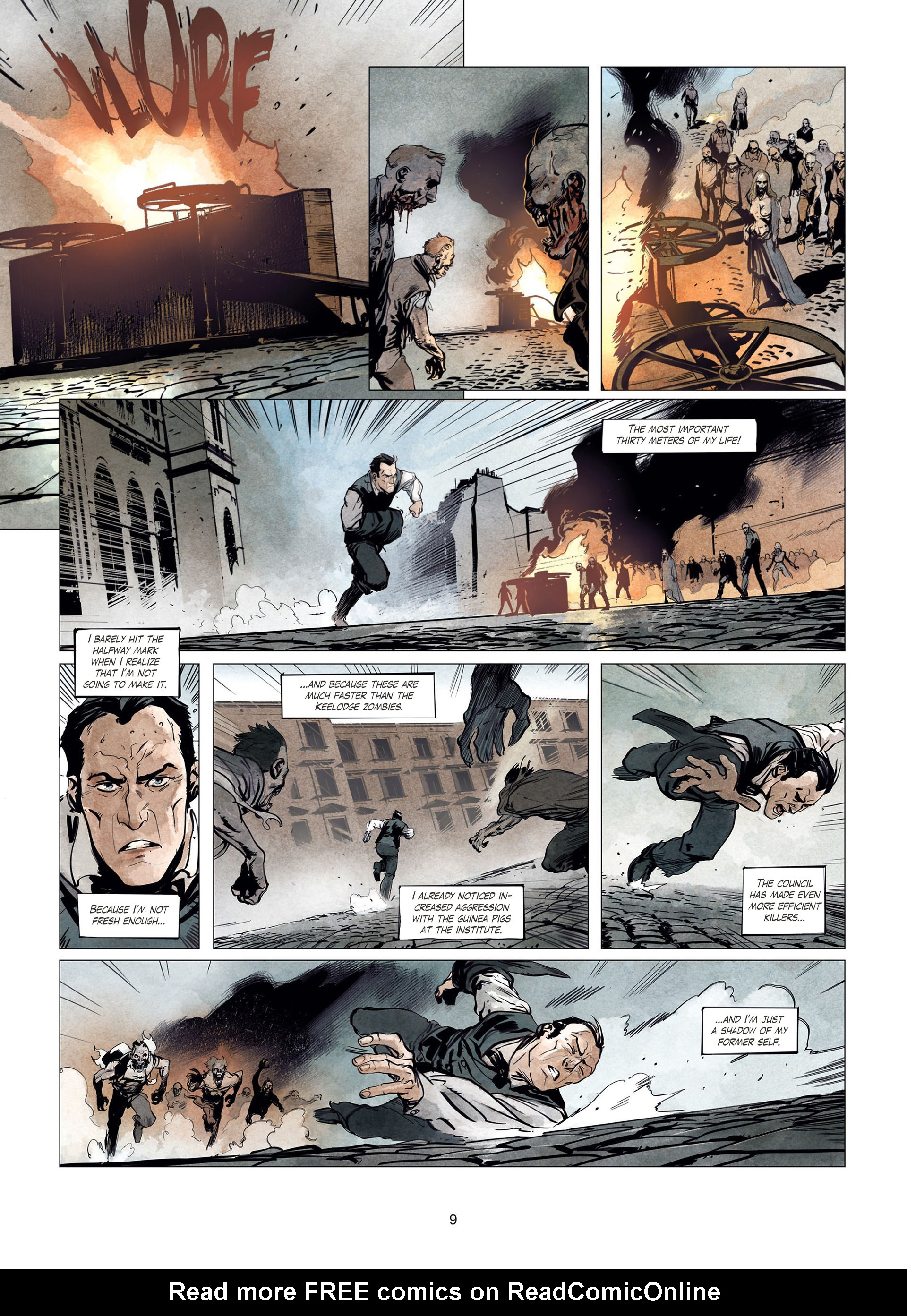 Read online Sherlock Holmes Society Tome 4 : Contamination comic -  Issue # Full - 9