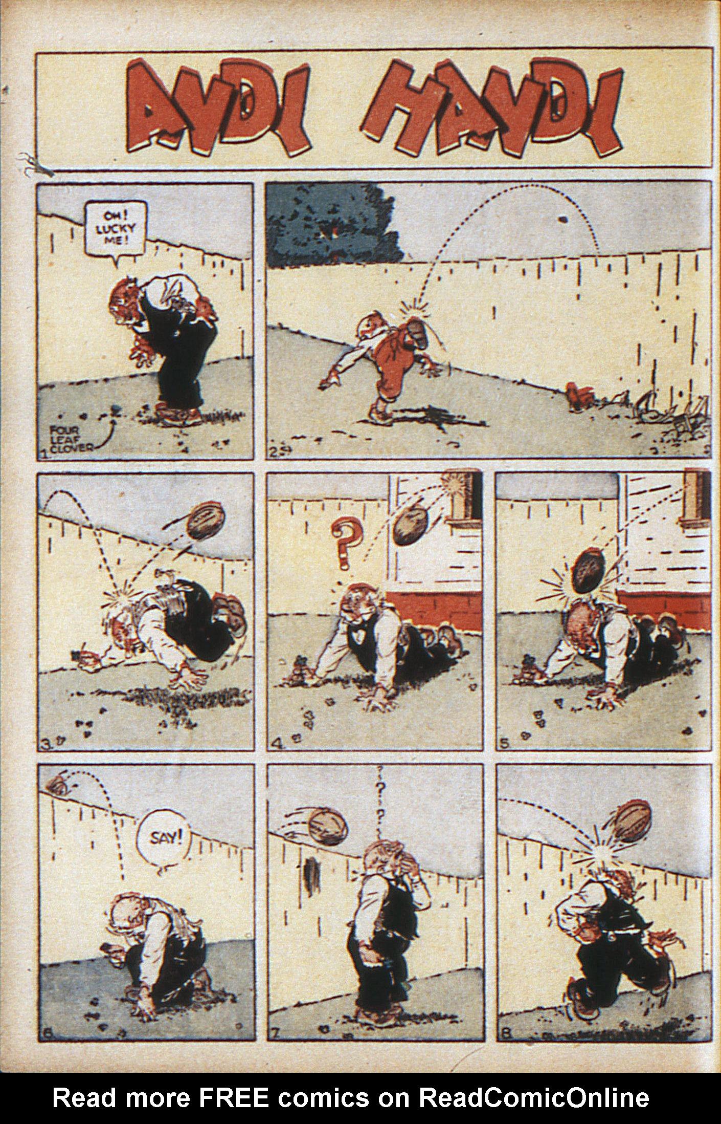 Read online Adventure Comics (1938) comic -  Issue #10 - 27