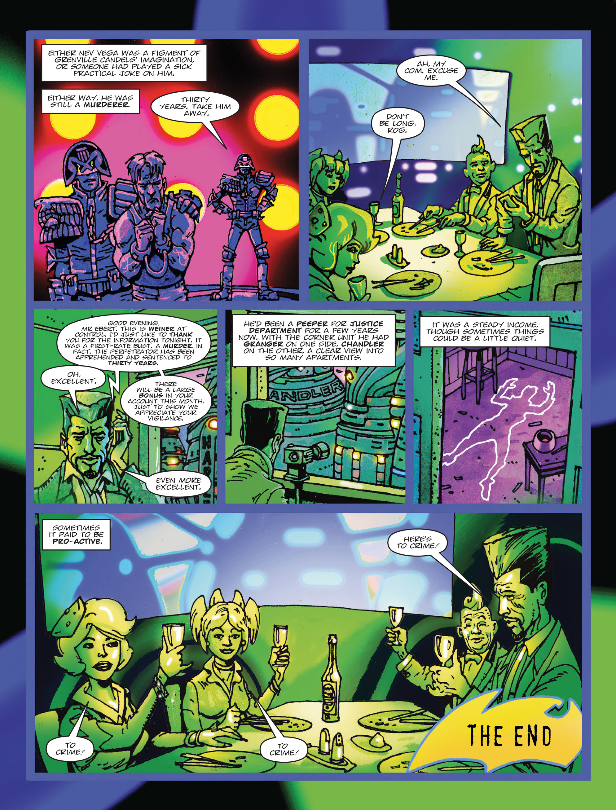 Read online 2000 AD comic -  Issue #2000 AD _Sci-Fi Special 2016 - 8