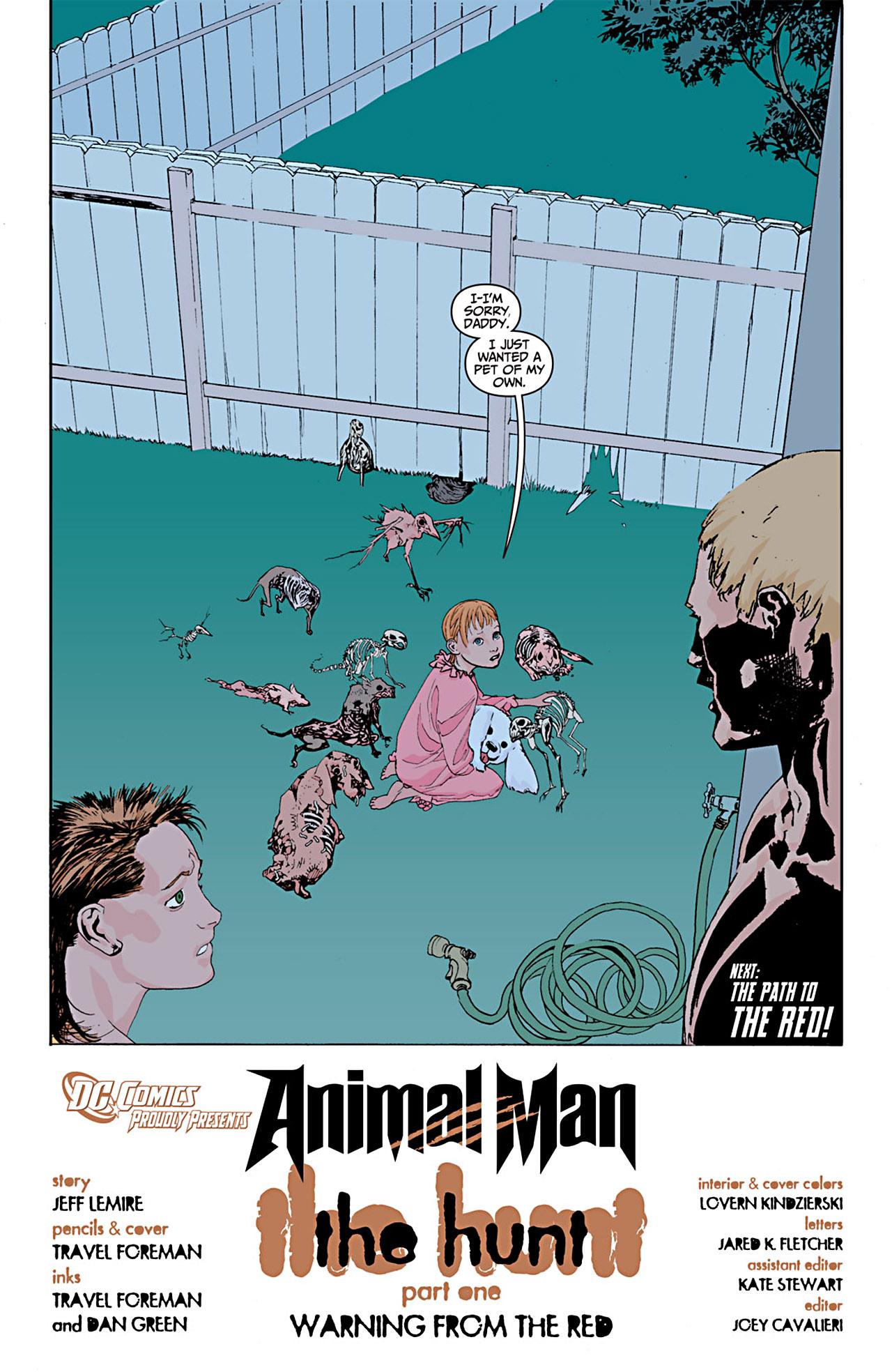 Read online Animal Man (2011) comic -  Issue #1 - 20