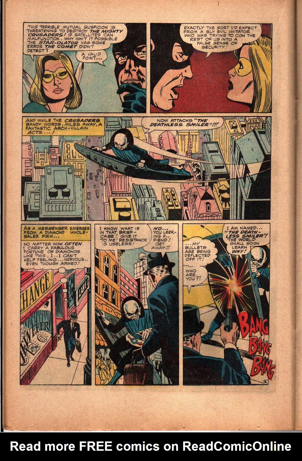 The Mighty Crusaders (1965) Issue #3 #3 - English 13