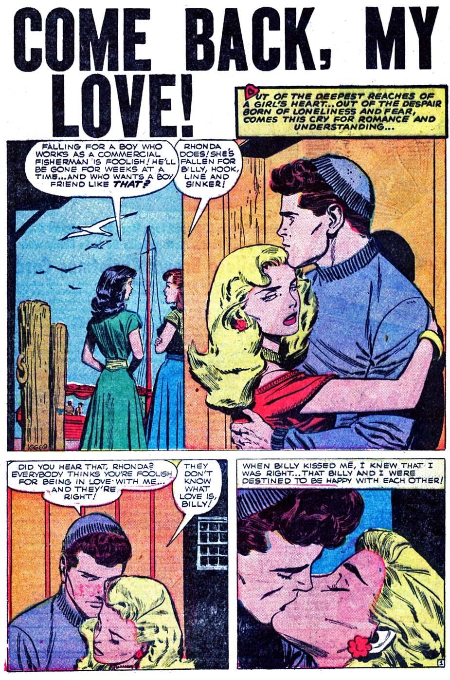 Love Romances (1949) issue 52 - Page 20